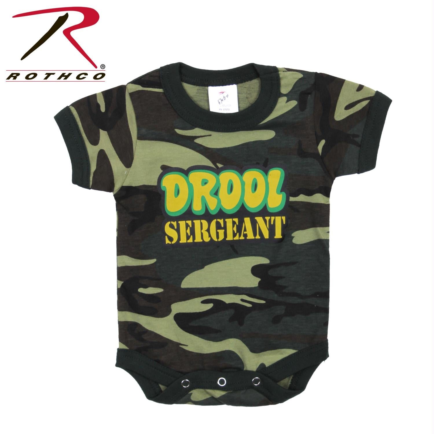 Rothco Infant Drool Sergeant One-Piece - 2T