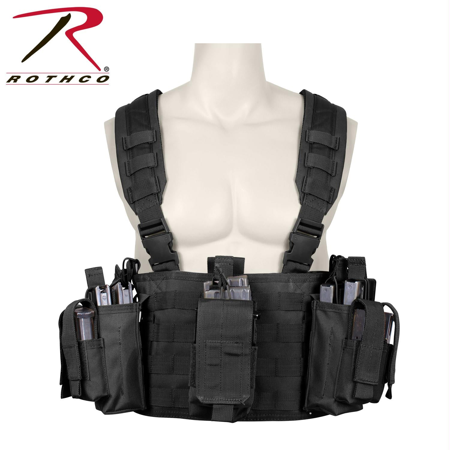 Rothco Operators Tactical Chest Rig - Black