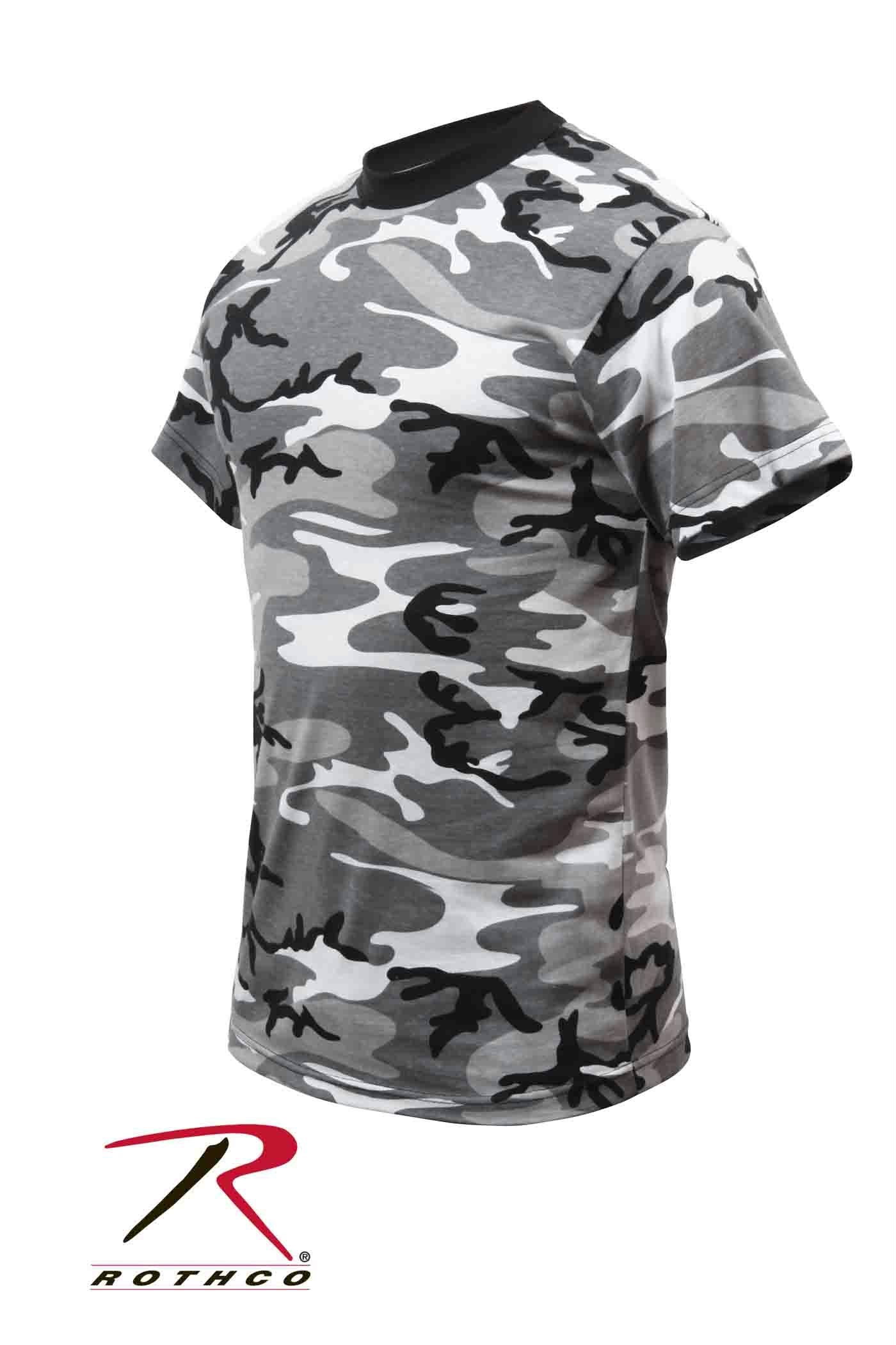 Rothco Kids Camo T-Shirts - City Camo / XS