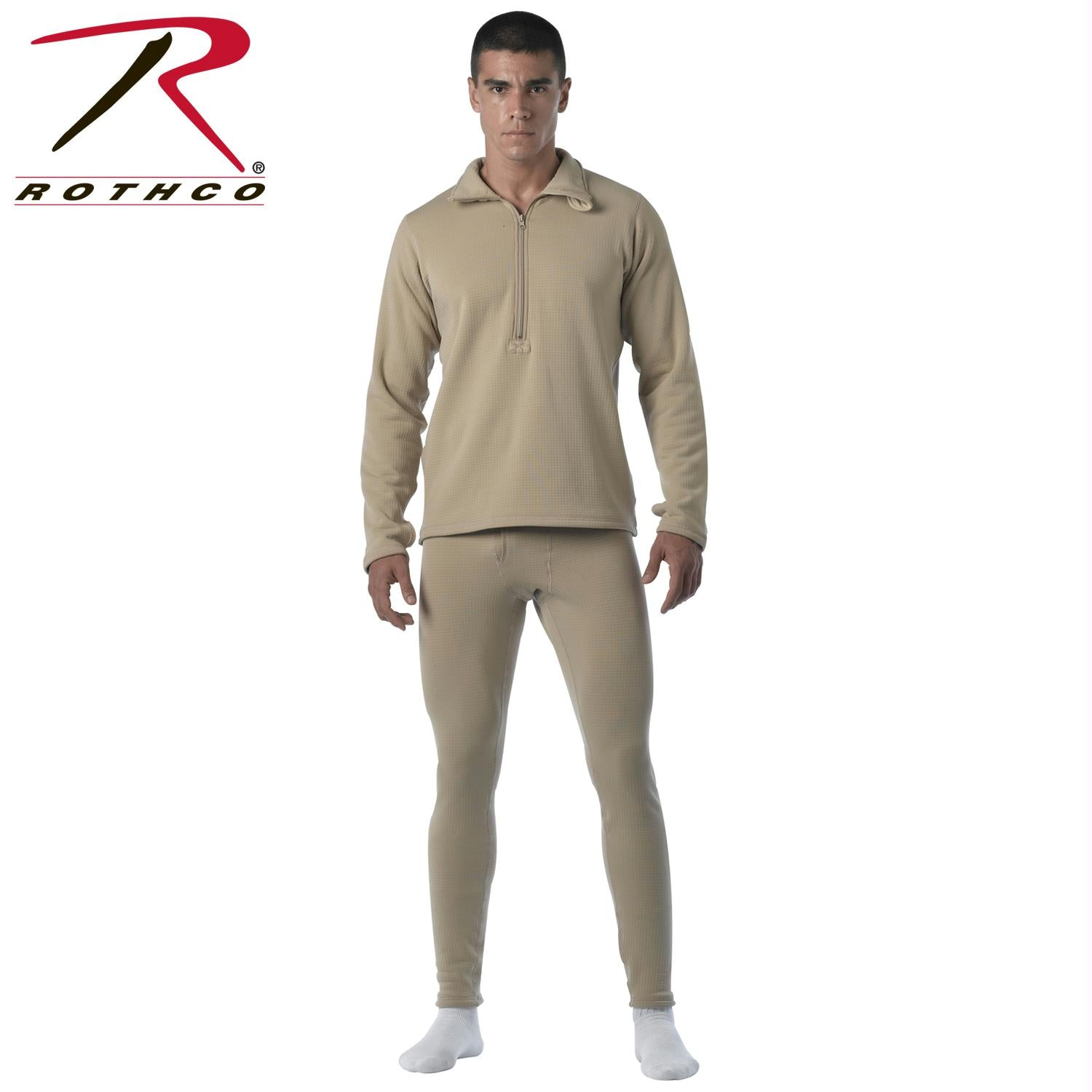 Rothco Military E.C.W.C.S. Generation III Mid-Weight Bottoms - Desert Sand / XL