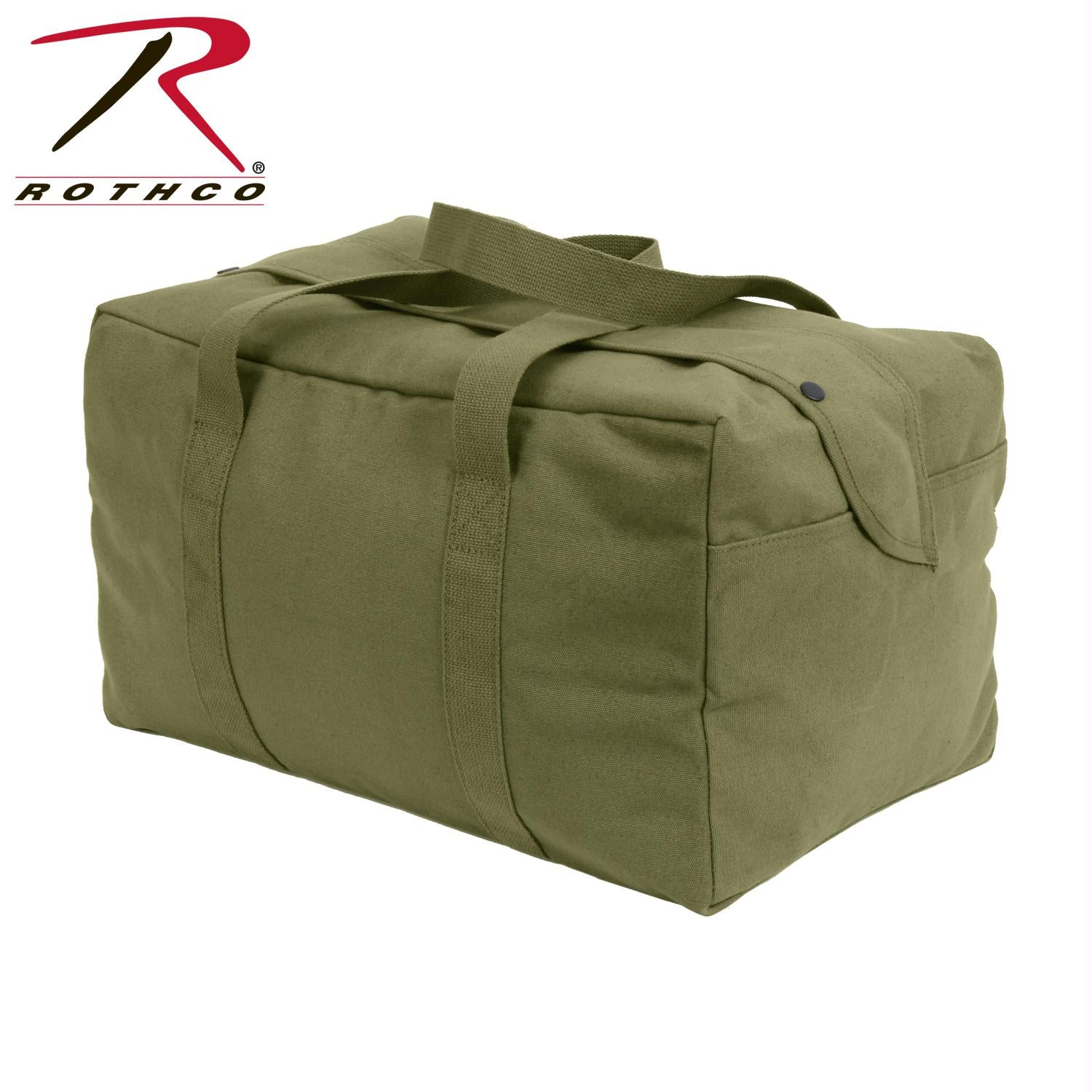Rothco Canvas Small Parachute Cargo Bag - Olive Drab
