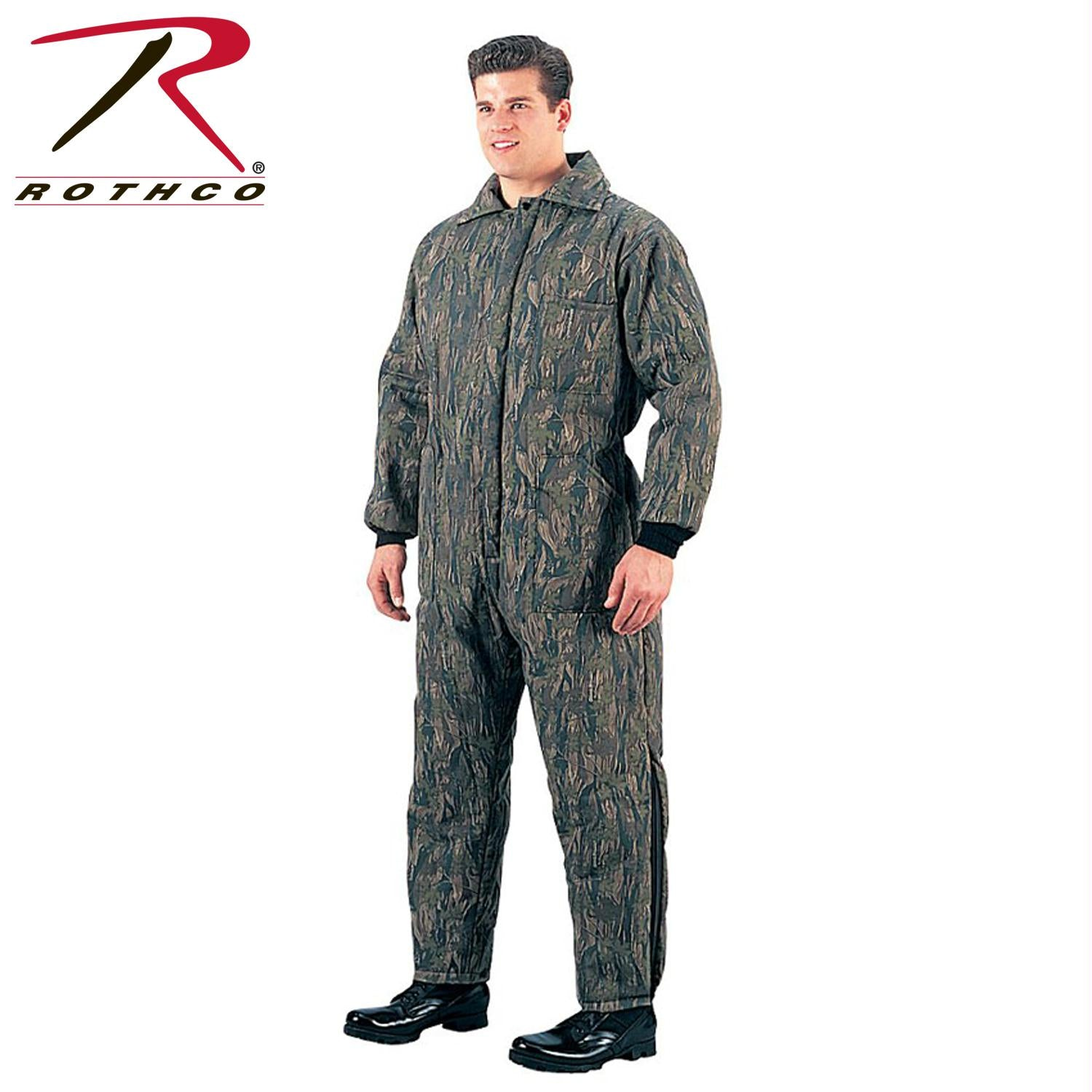 Rothco Insulated Coveralls - Smokey Branch Camo / 3XL