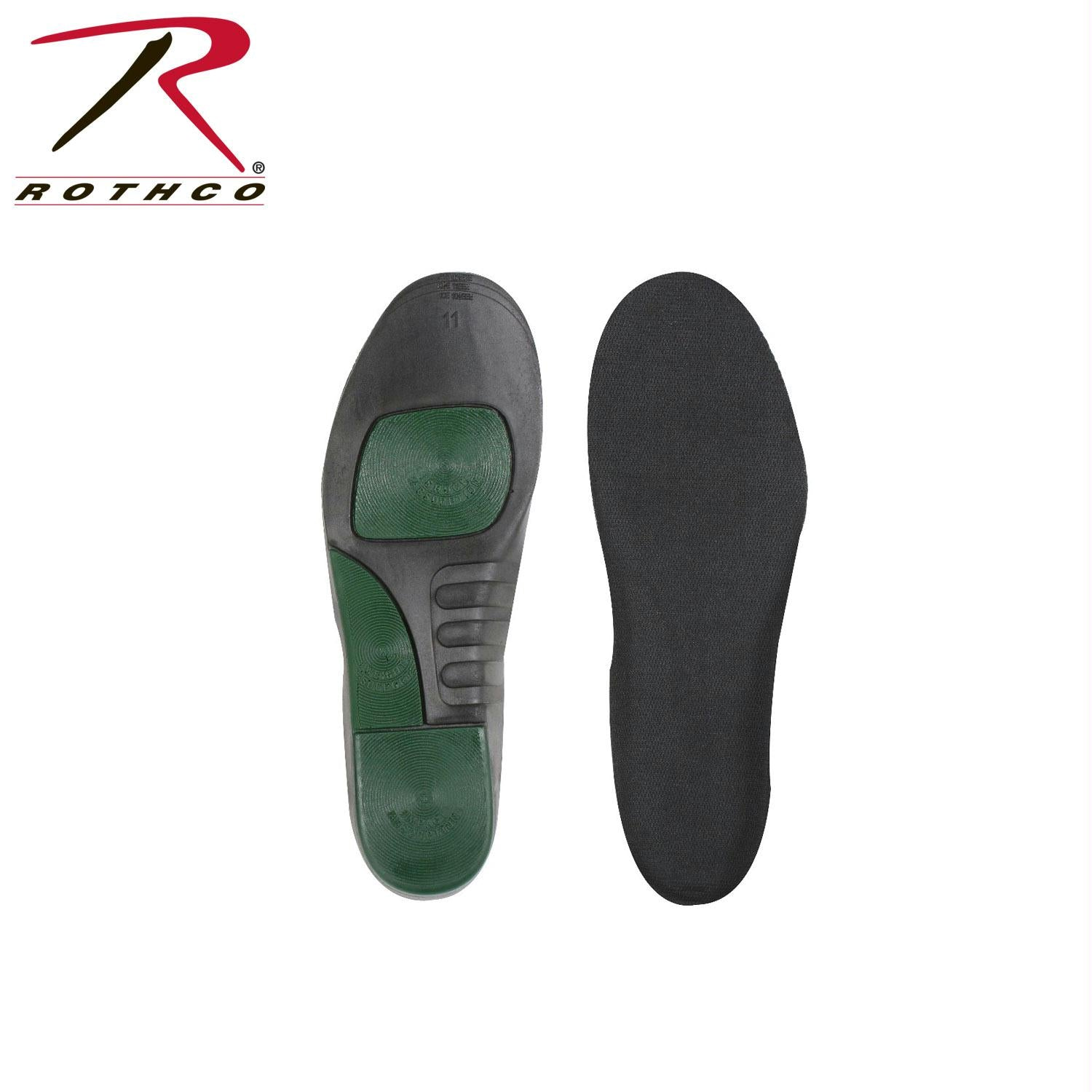 Rothco Military And Public Safety Insoles - 6 - 7