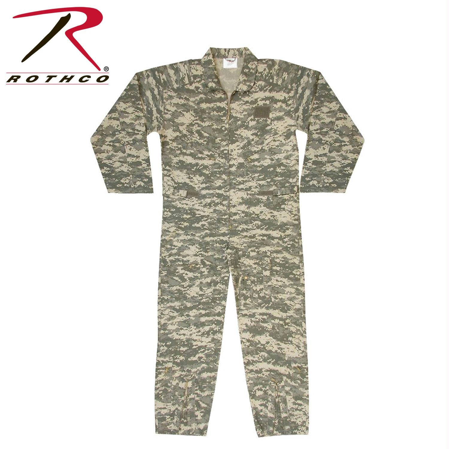 Rothco Kids Air Force Type Flightsuit - ACU Digital Camo / M