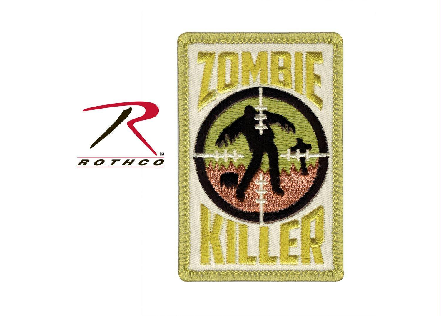 Rothco Zombie Killer Morale Patch - Red