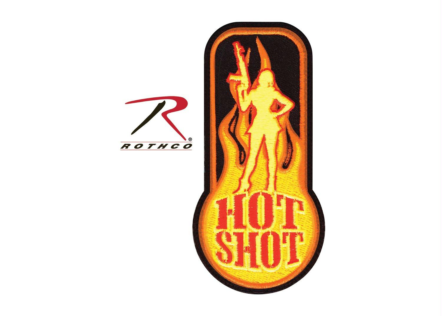 Rothco Hot Shot Morale Patch - Red
