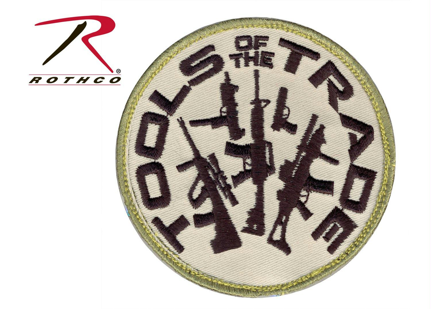 Rothco Tools Of The Trade Morale Patch - Black