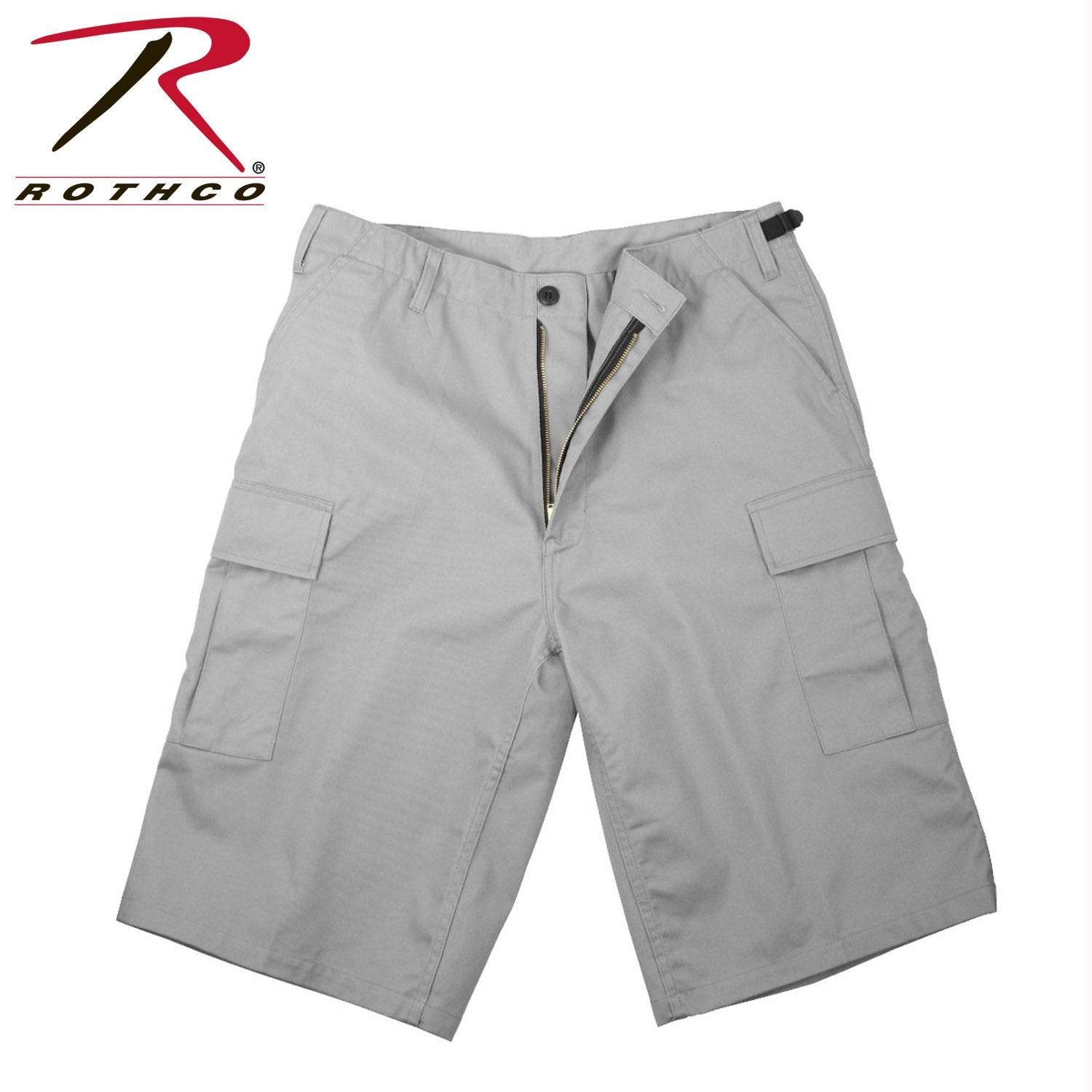 Rothco Long Length BDU Short - Grey / 2XL