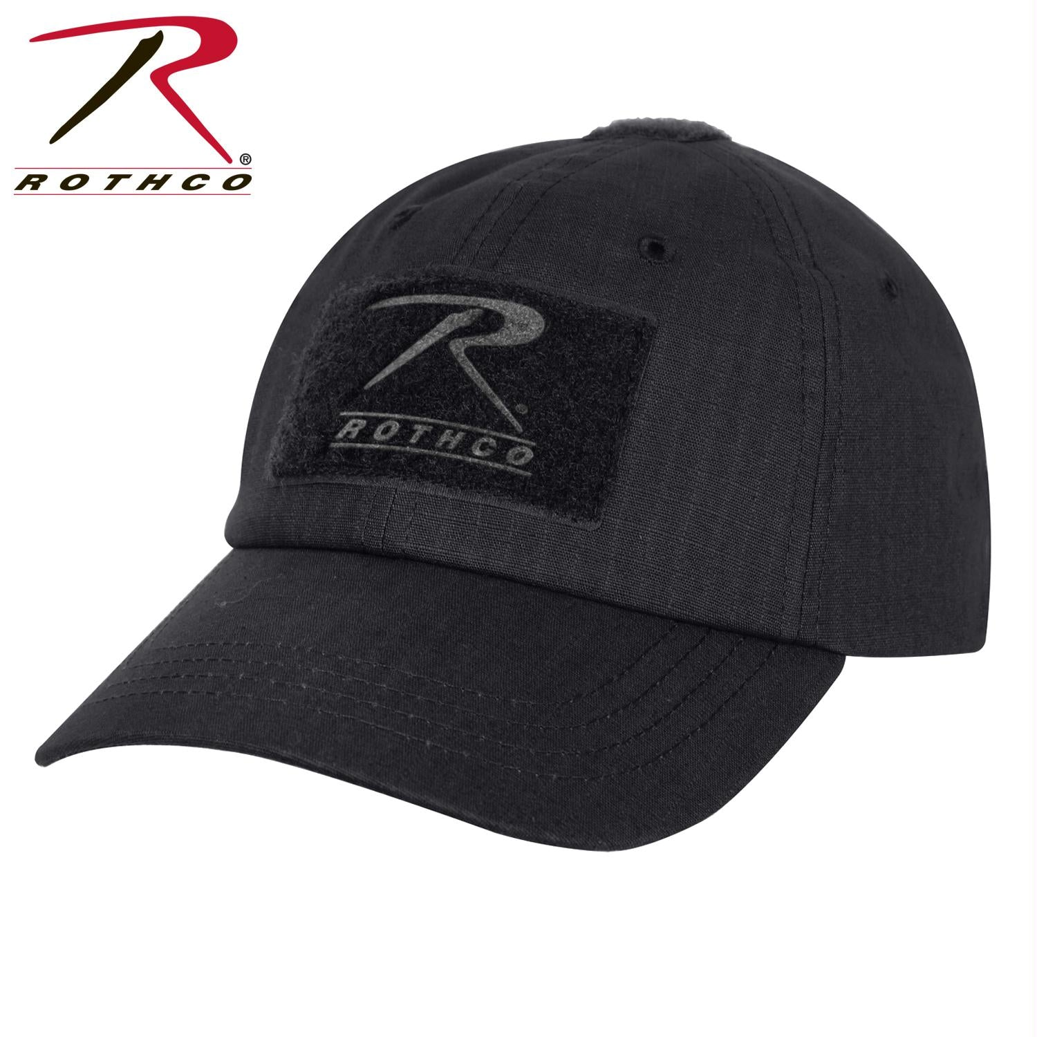 Rothco Rip Stop Operator Tactical Cap - Black / One Size