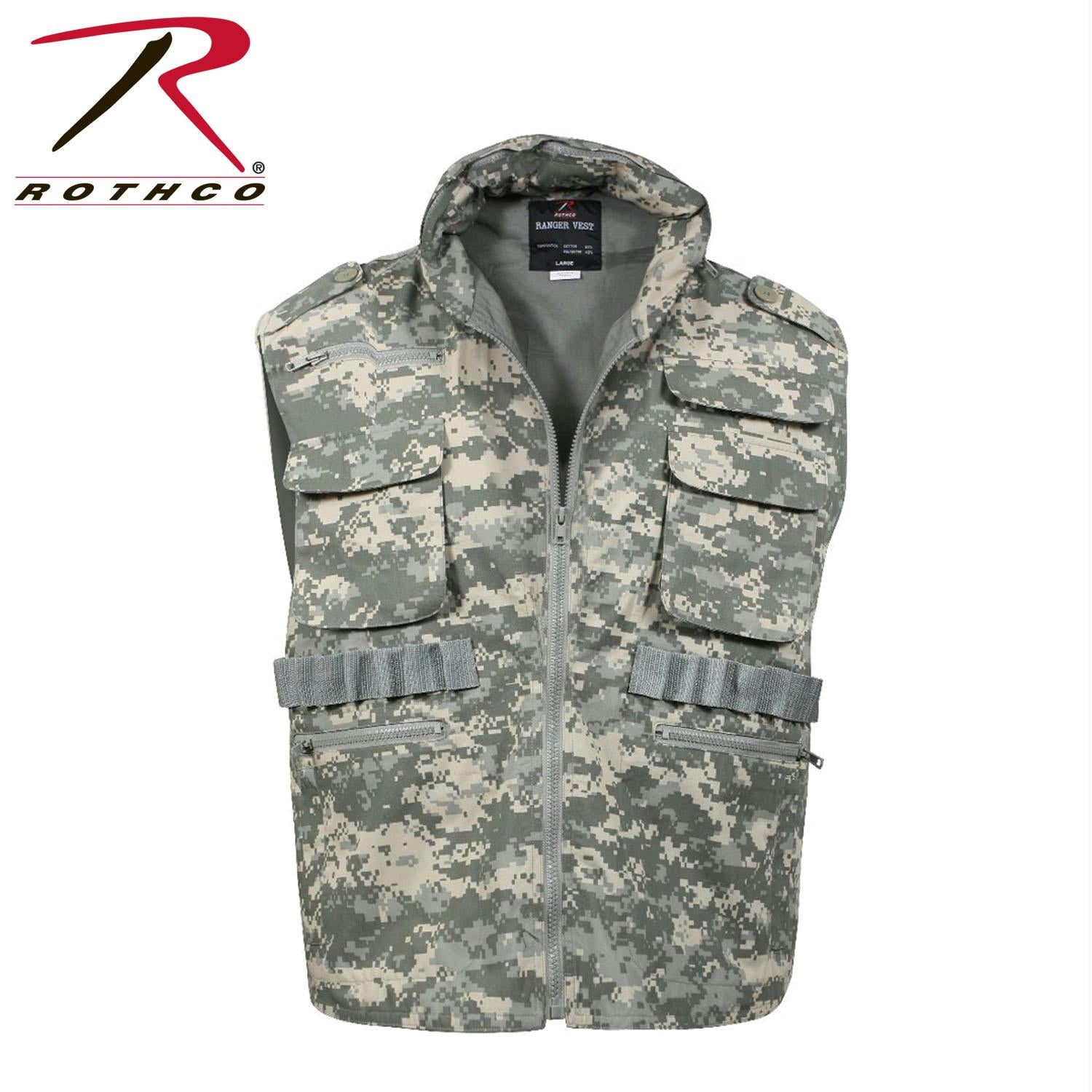 Rothco Ranger Vests - ACU Digital Camo / 2XL