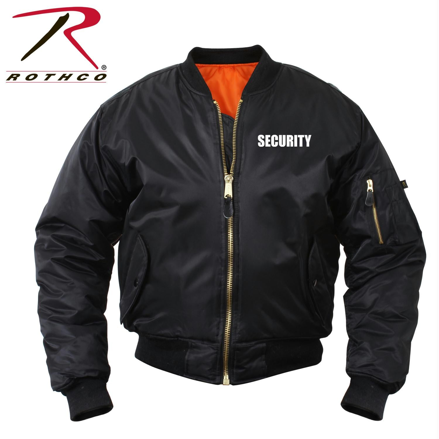 Rothco MA-1 Flight Jacket With Security Print - XL