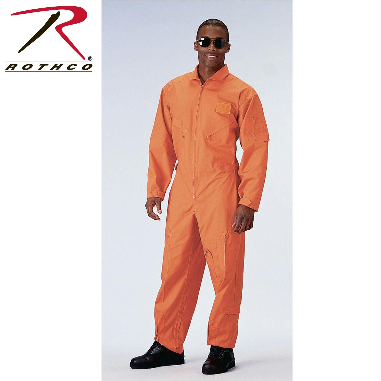 Rothco Flightsuits - Orange / 2XL