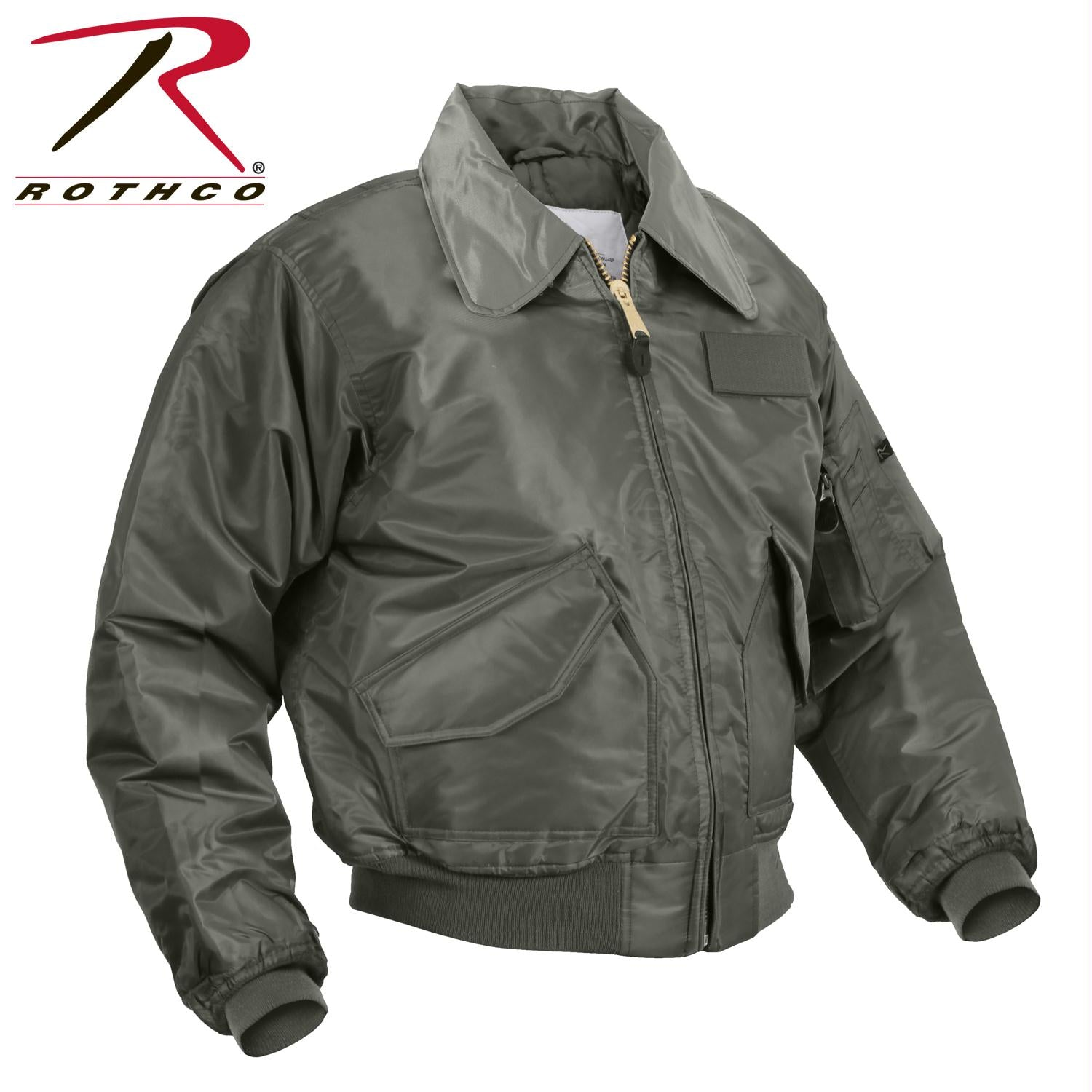 Rothco CWU-45P Flight Jacket - Sage Green / 3XL