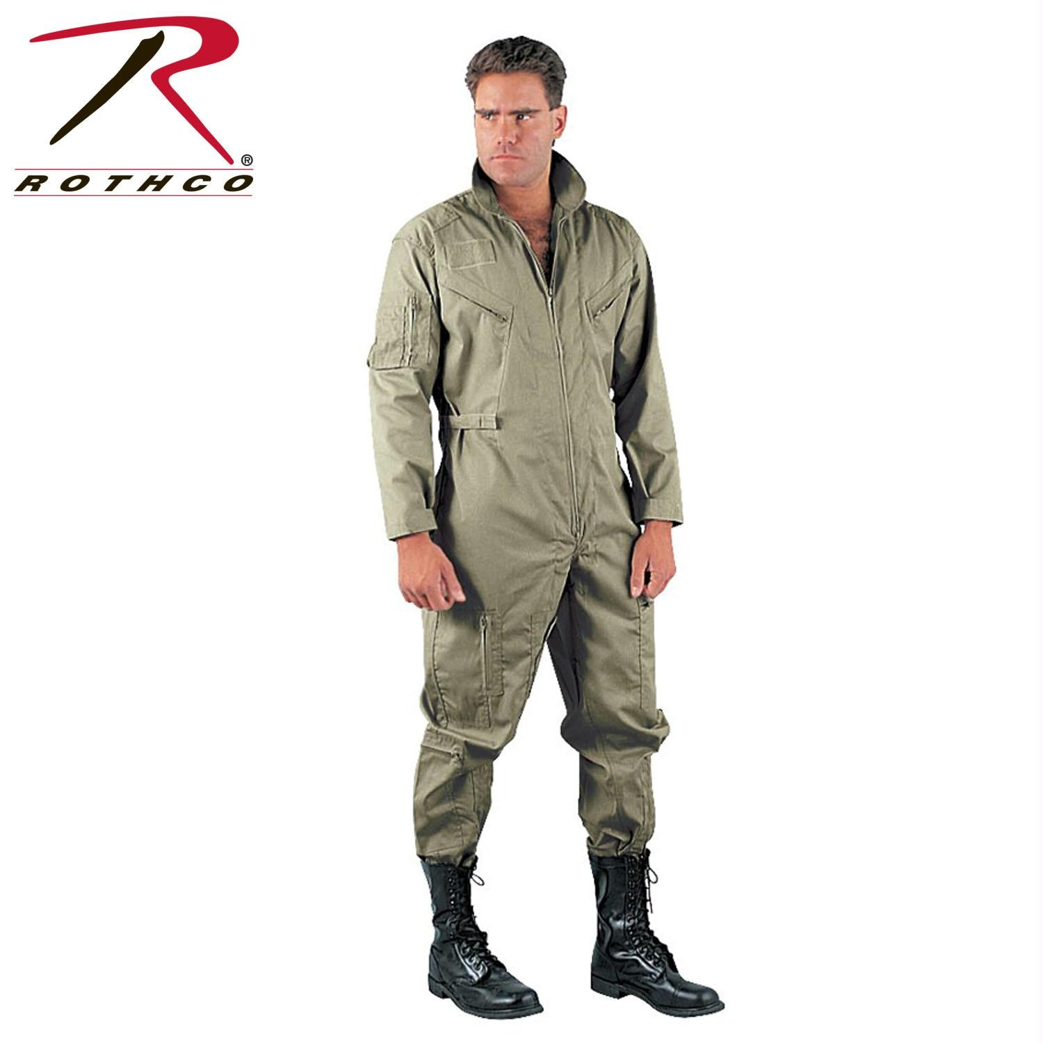 Rothco Flightsuits - Khaki / 3XL