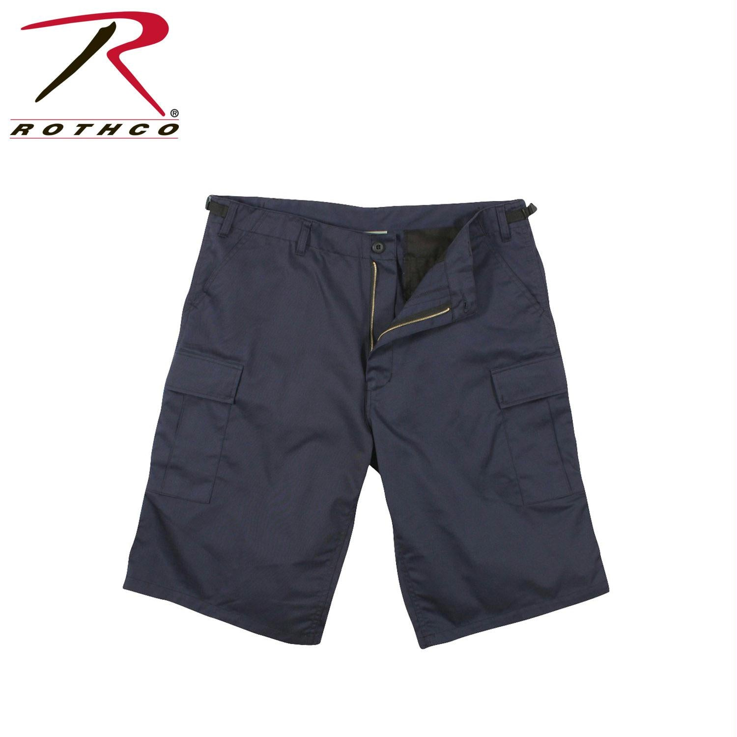 Rothco Long Length BDU Short - Navy Blue / XL