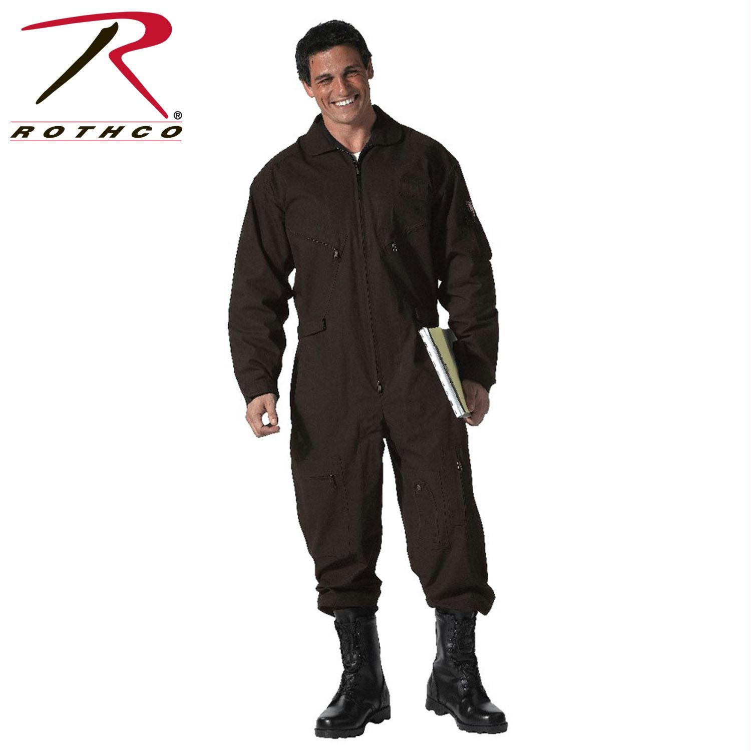 Rothco Flightsuits - Black / 4XL