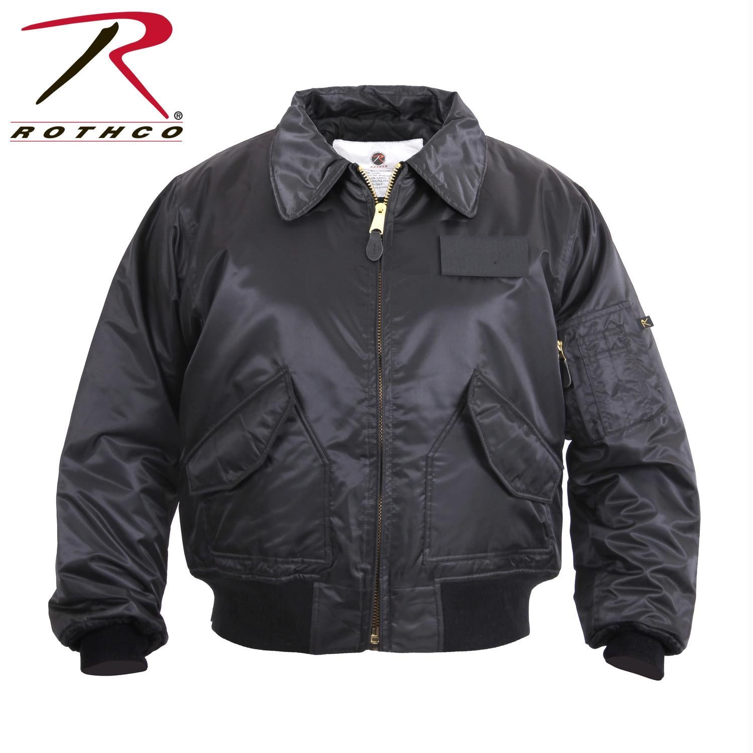 Rothco CWU-45P Flight Jacket - Black / S
