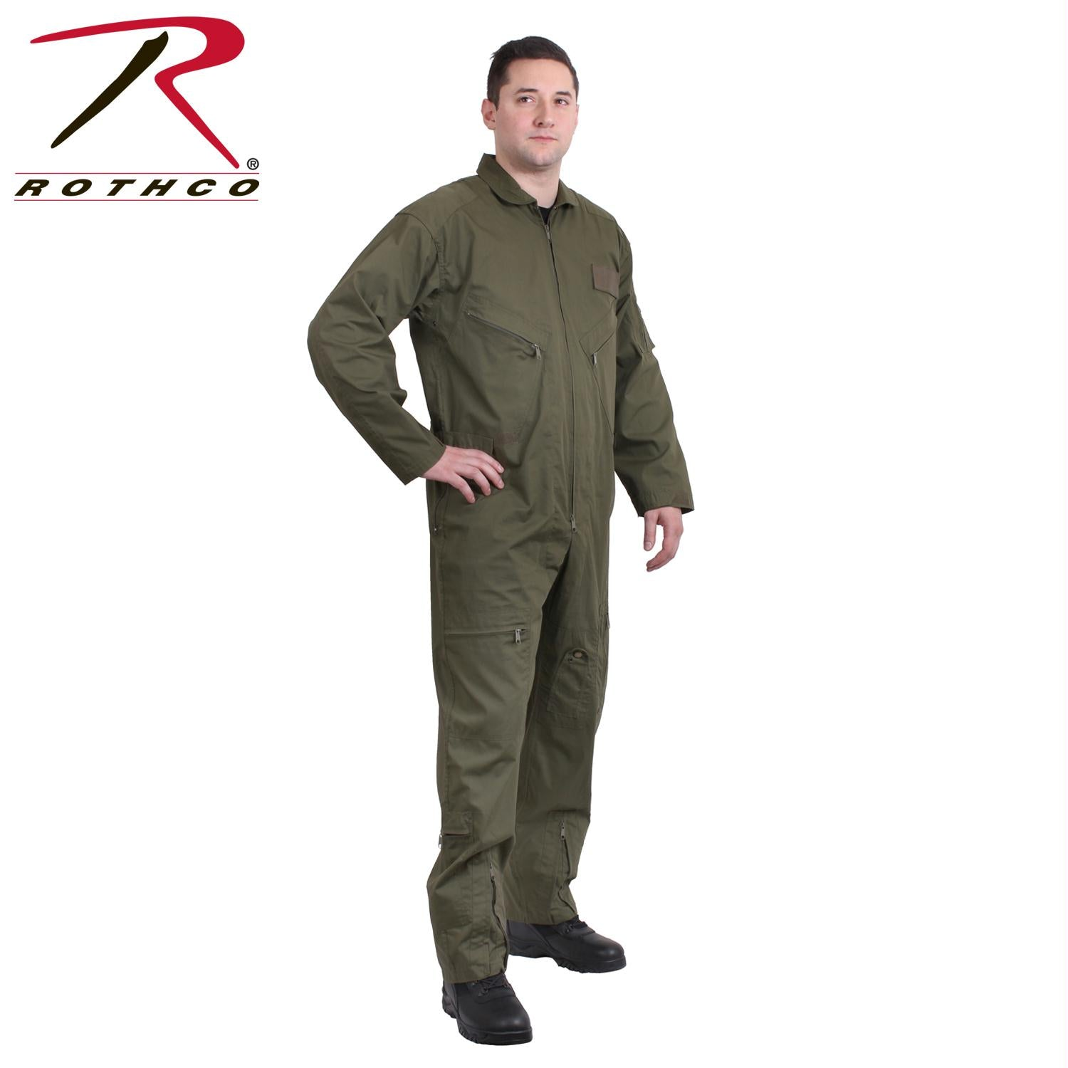 Rothco Flightsuits - Olive Drab / 6XL