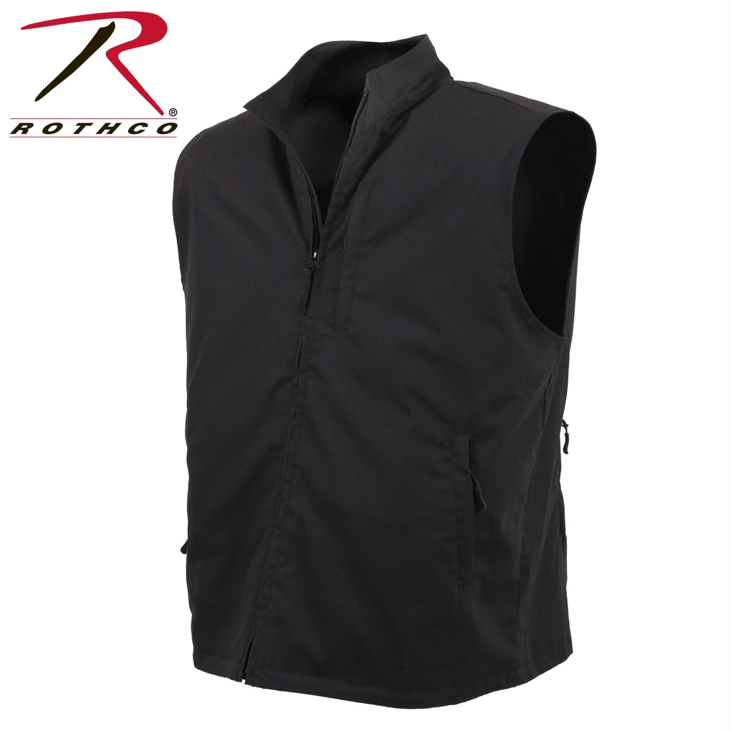 Rothco Undercover Travel Vest - Black / 3XL