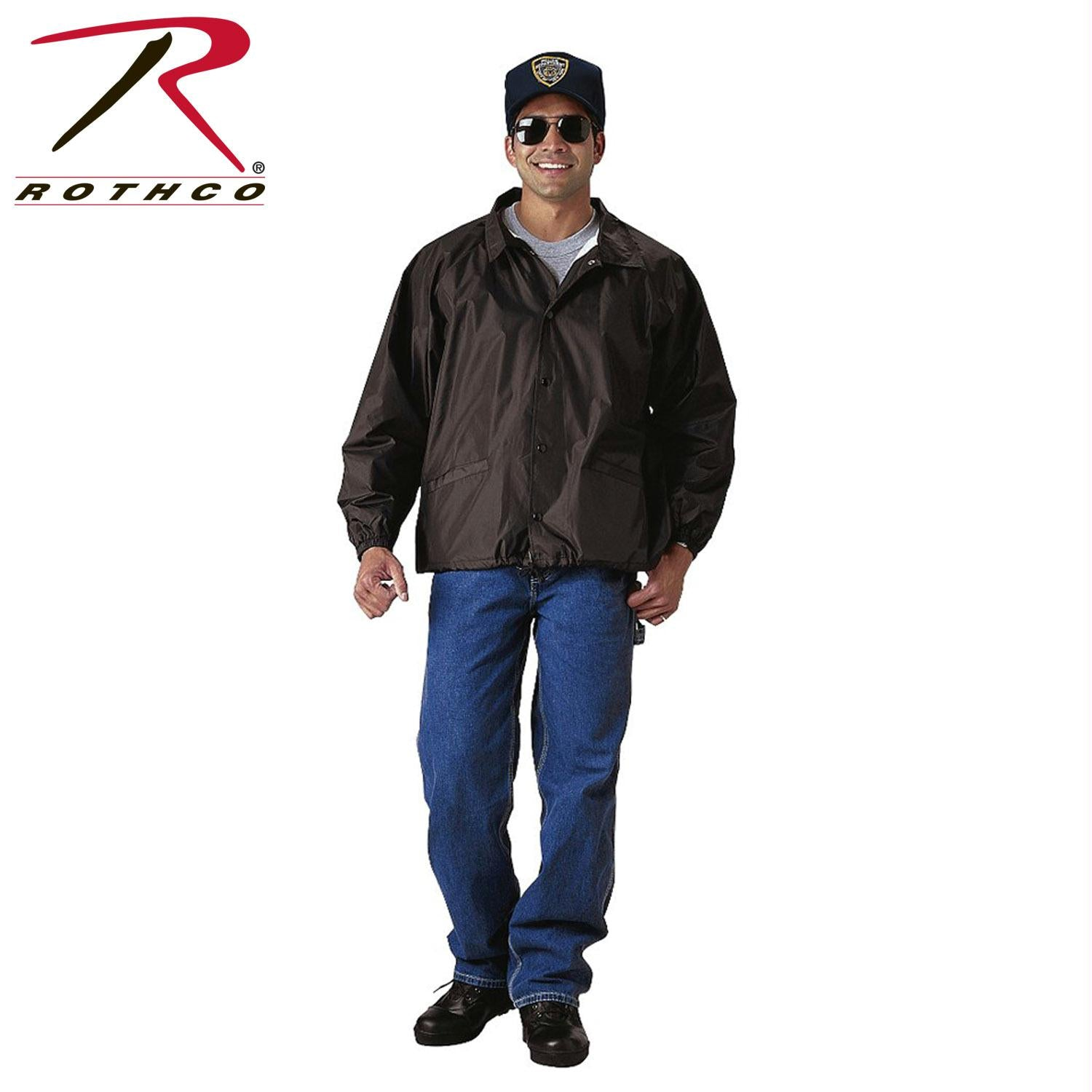 Rothco Coaches Jacket - Black / 3XL