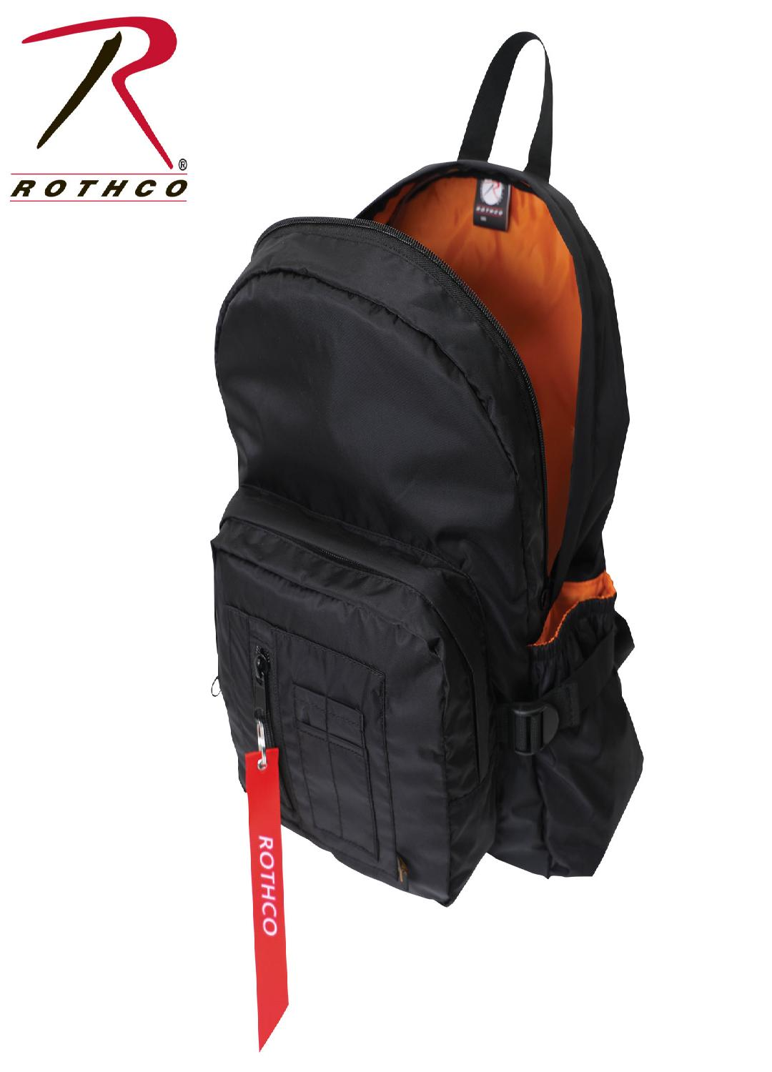 Rothco MA-1 Bomber Backpack - Black