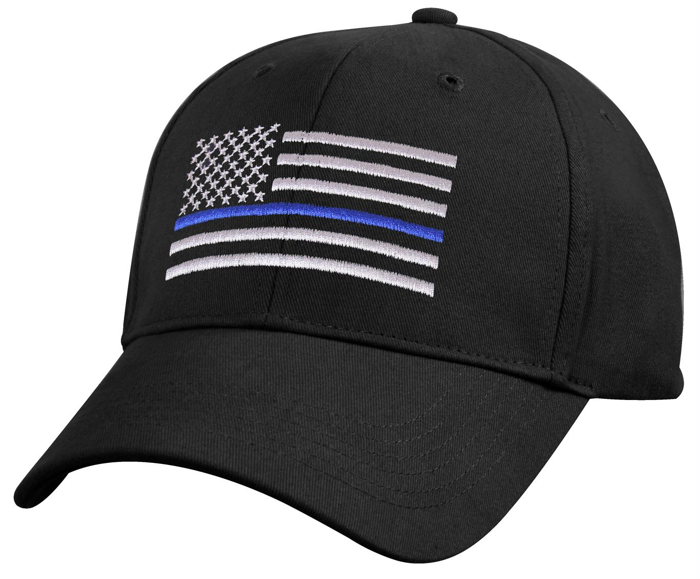 Rothco Kids Low Profile Thin Blue Line Flag Cap
