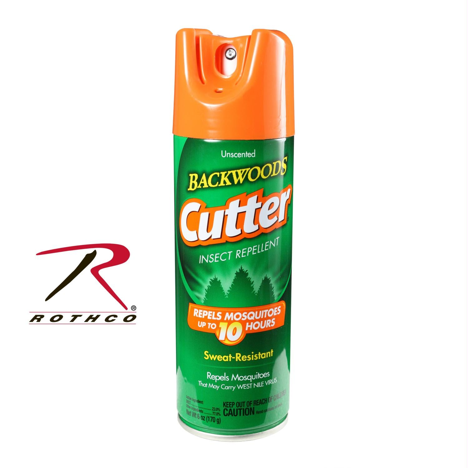 Cutter Unscented Backwoods Insect Repellent