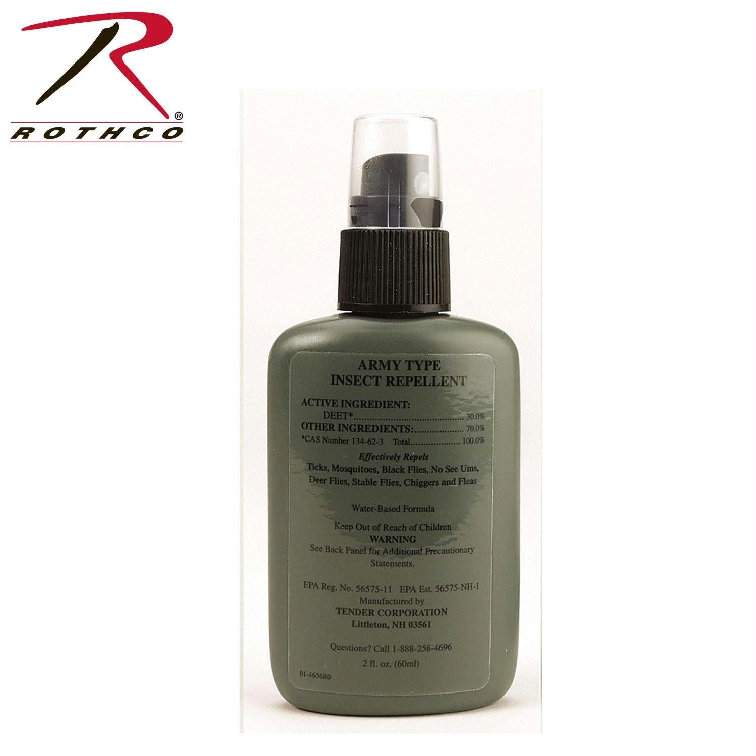 Rothco G.I. Army Type Insect Repellent - Tan