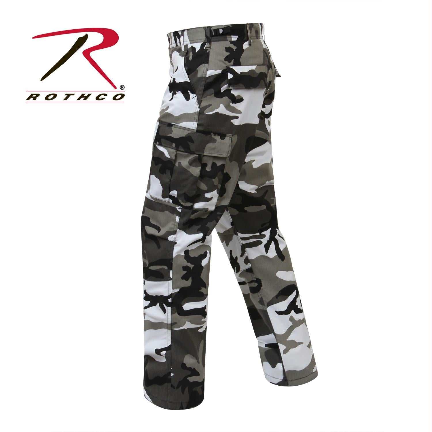 Rothco Color Camo Tactical BDU Pant - City Camo / L - Long (35