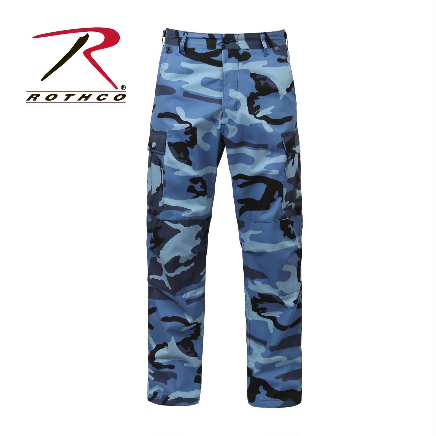 Rothco Color Camo Tactical BDU Pant - Sky Blue Camo / 3XL