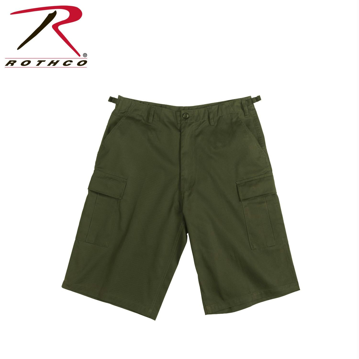 Rothco Long Length BDU Short - Olive Drab / S