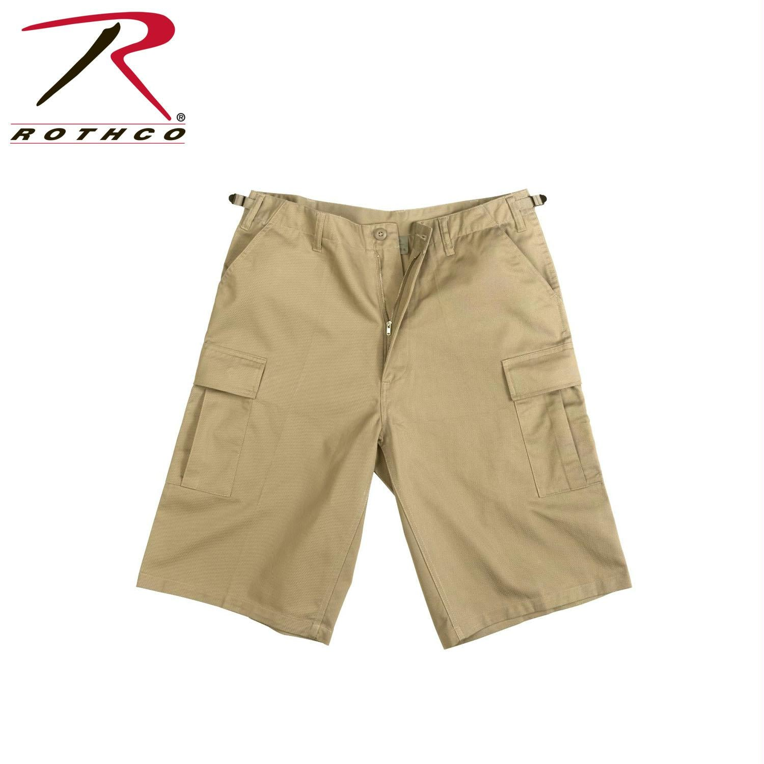 Rothco Long Length BDU Short - Khaki / M