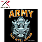 Rothco Black Army Emblem T-Shirt