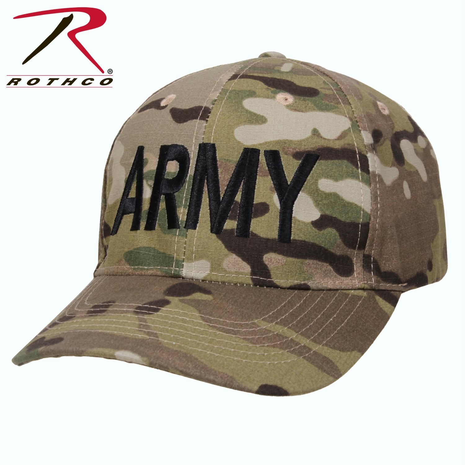 Rothco Low Profile Army MultiCam Hat - MultiCam / One Size