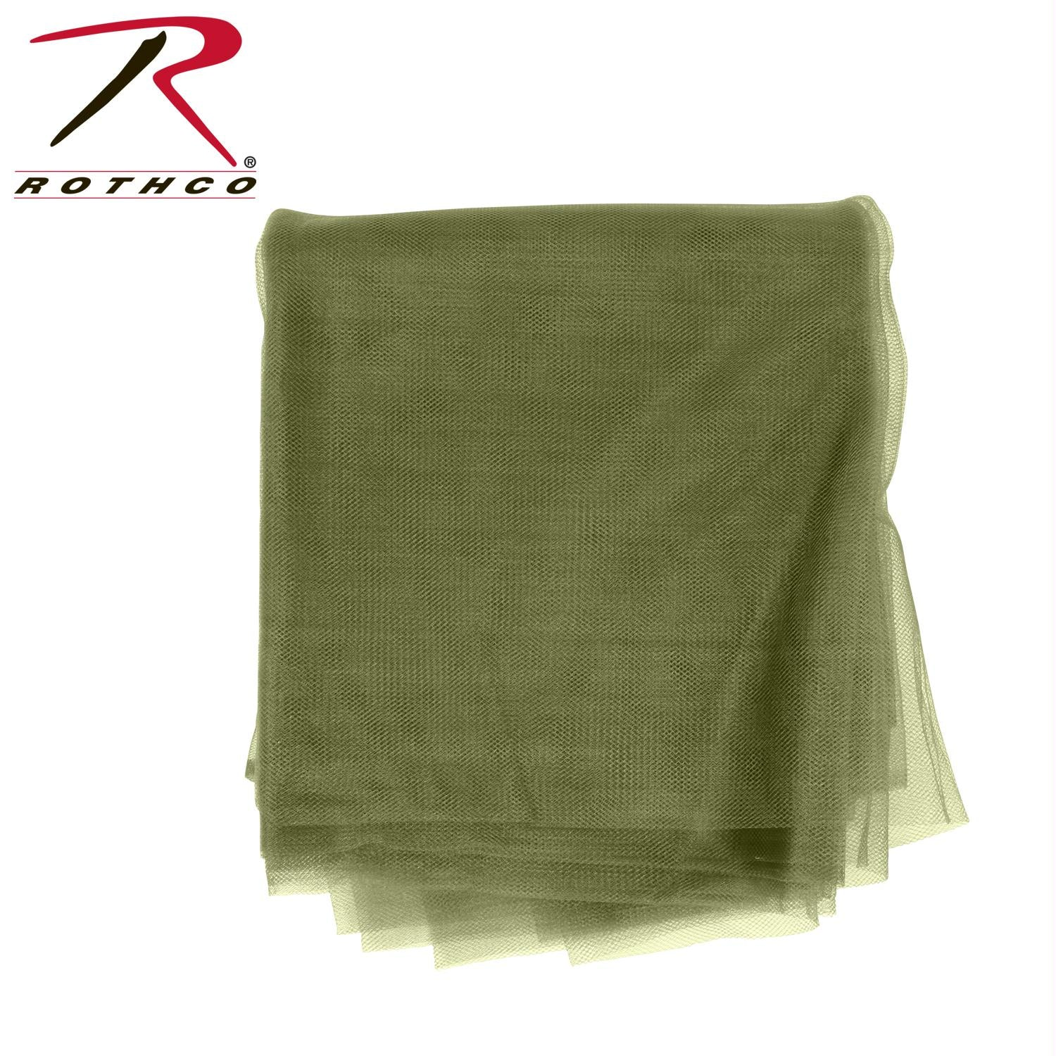 Rothco G.I. Type Rolled Mosquito Netting - Olive Drab