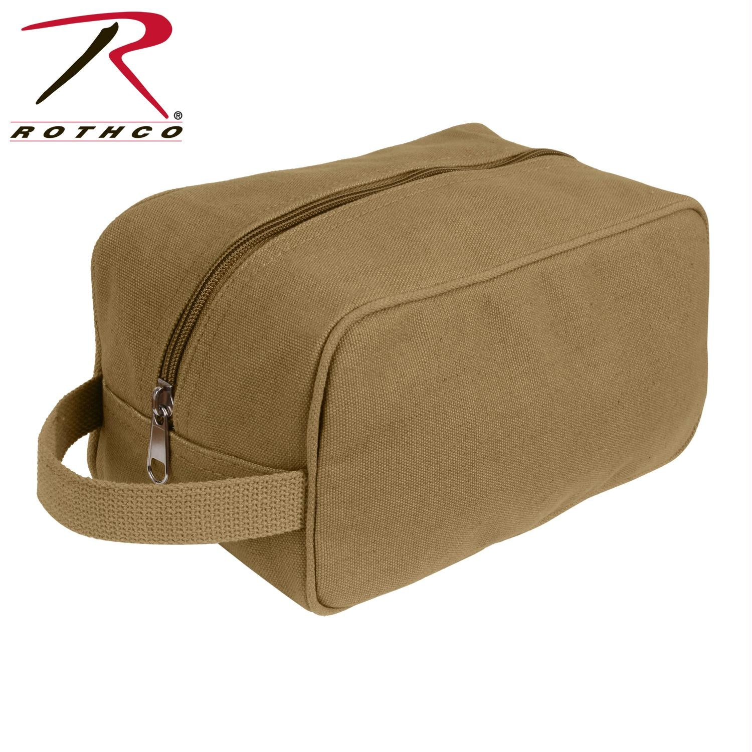 Rothco Canvas Travel Kit - Coyote Brown