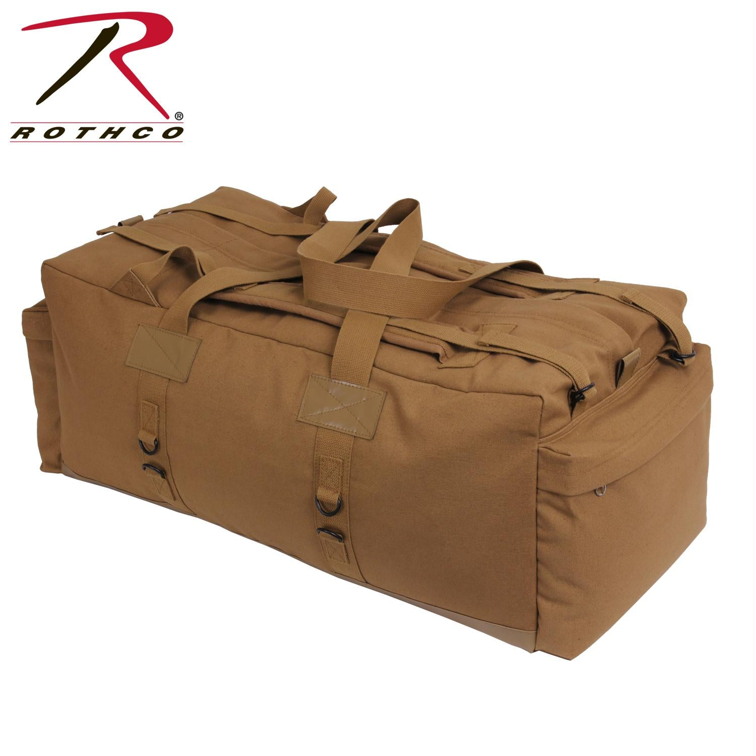 Rothco Mossad Tactical Duffle Bag - Coyote Brown