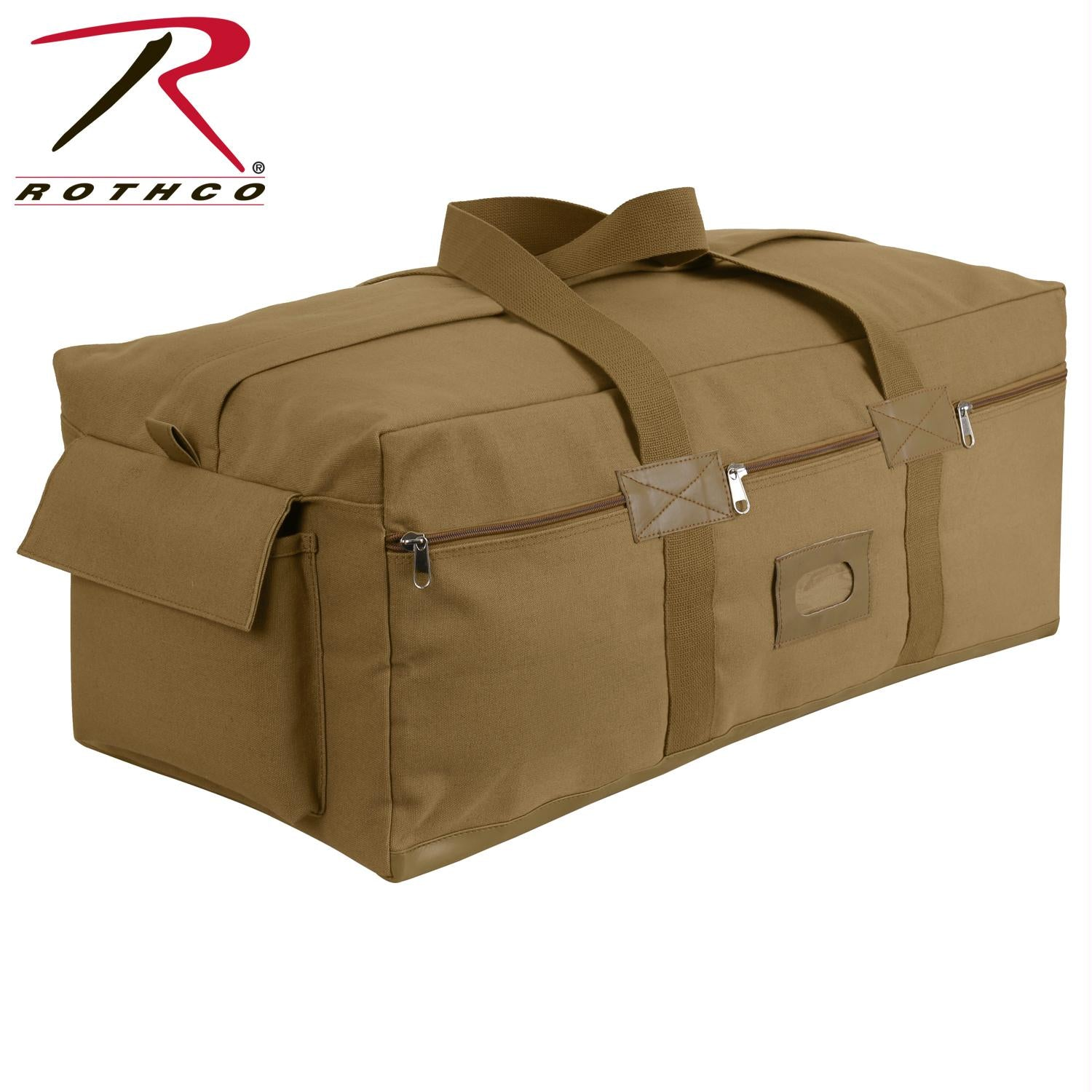 Rothco Canvas Israeli Type Duffle Bag - Coyote Brown