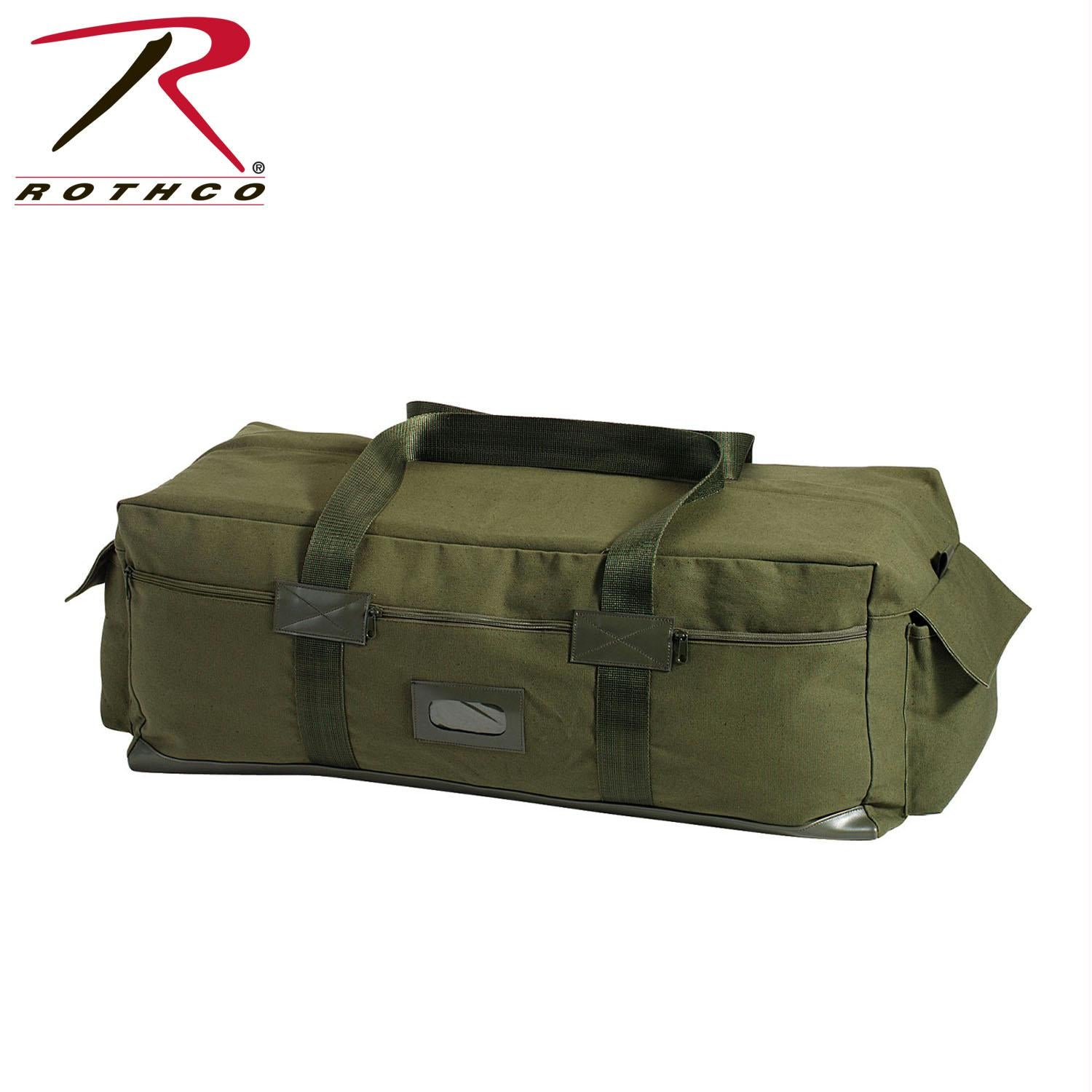 Rothco Canvas Israeli Type Duffle Bag - Olive Drab