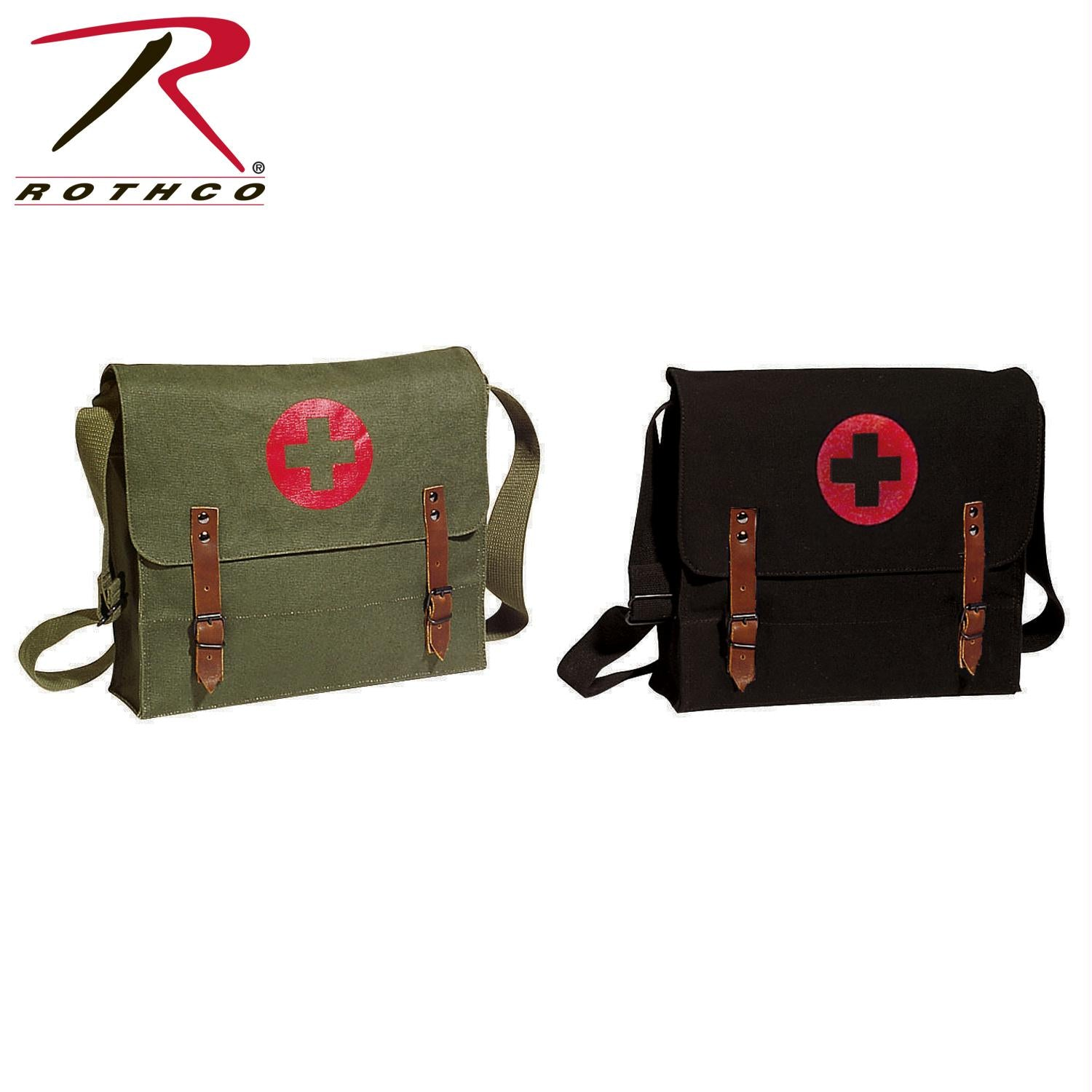 Rothco Canvas Nato Medic Bag - Olive Drab