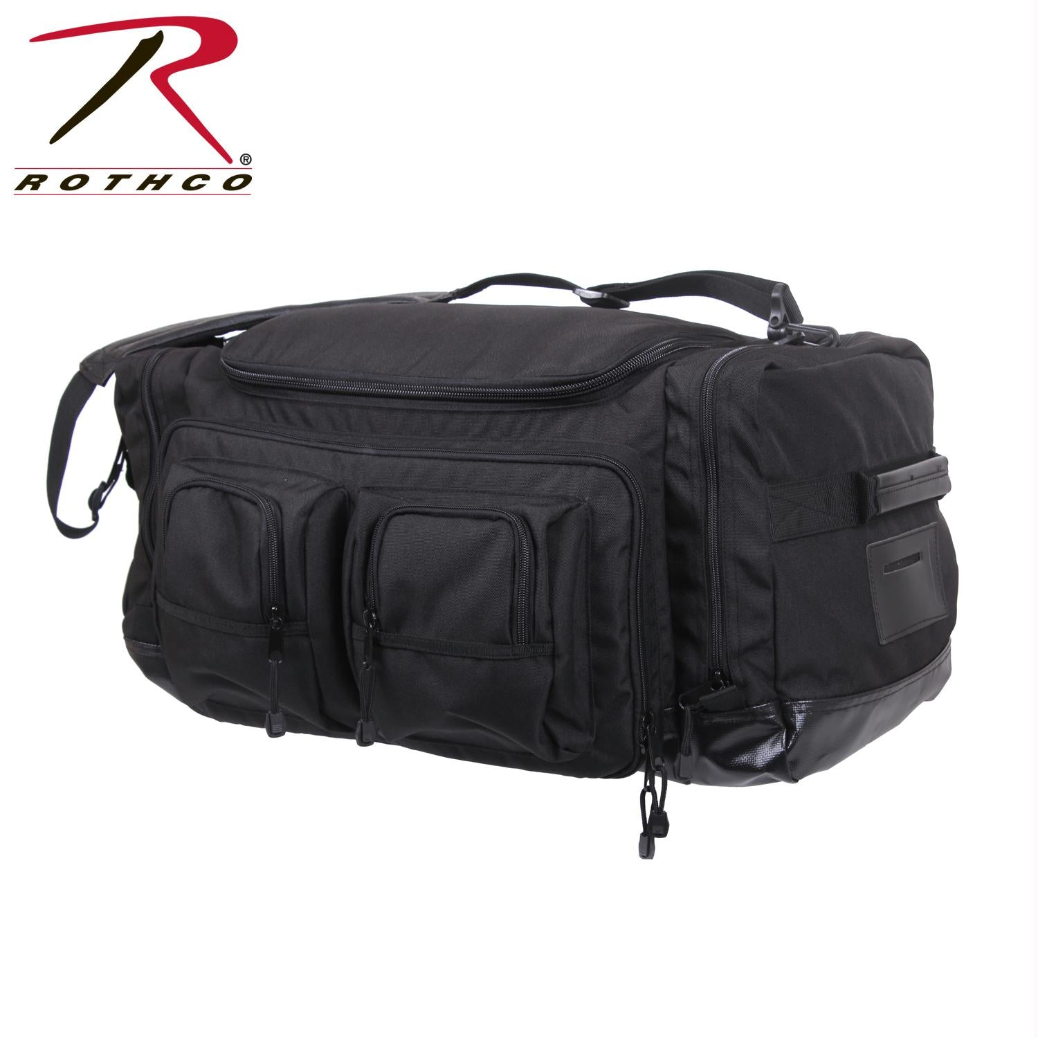 Rothco Deluxe Law Enforcement Gear Bag - Black / One Size