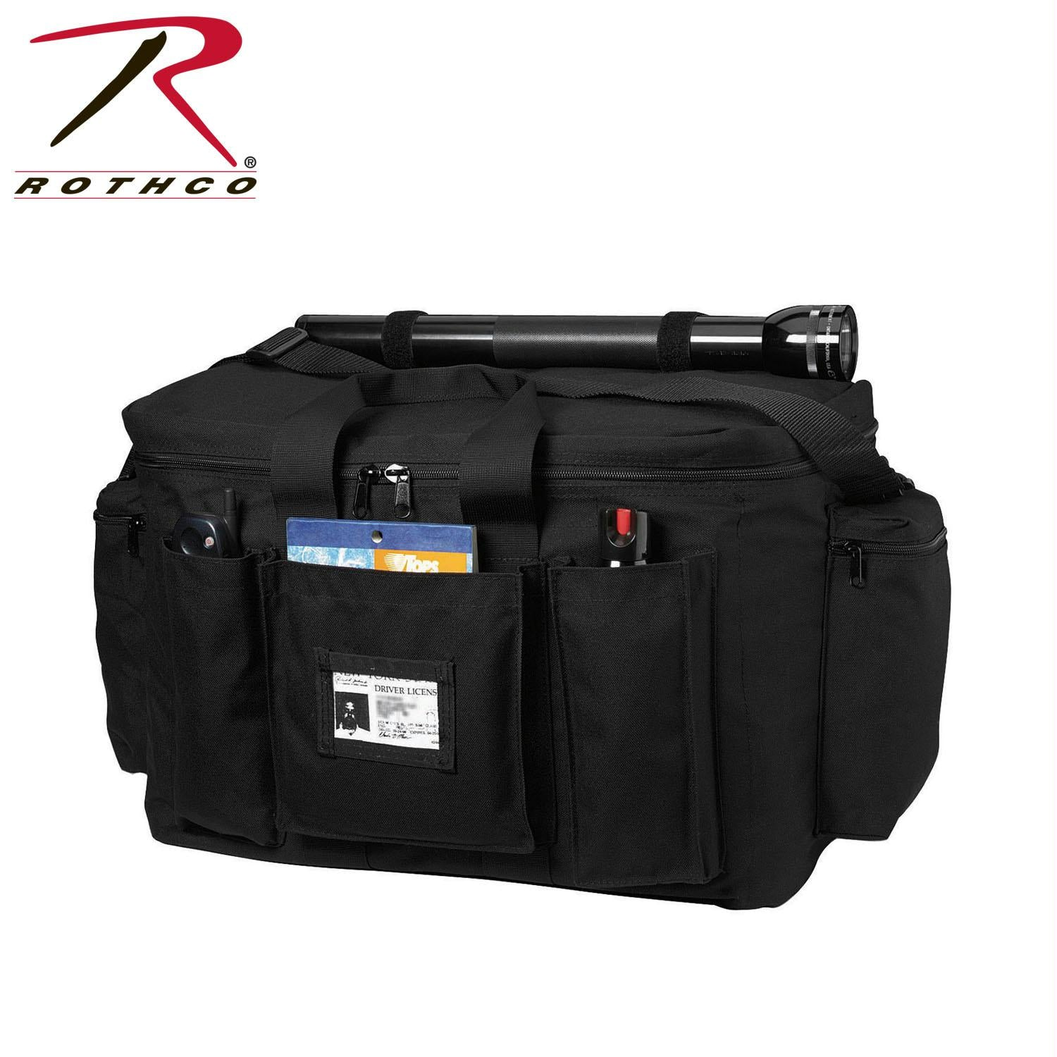 Rothco Black Police Equipment Bag - Black / One Size