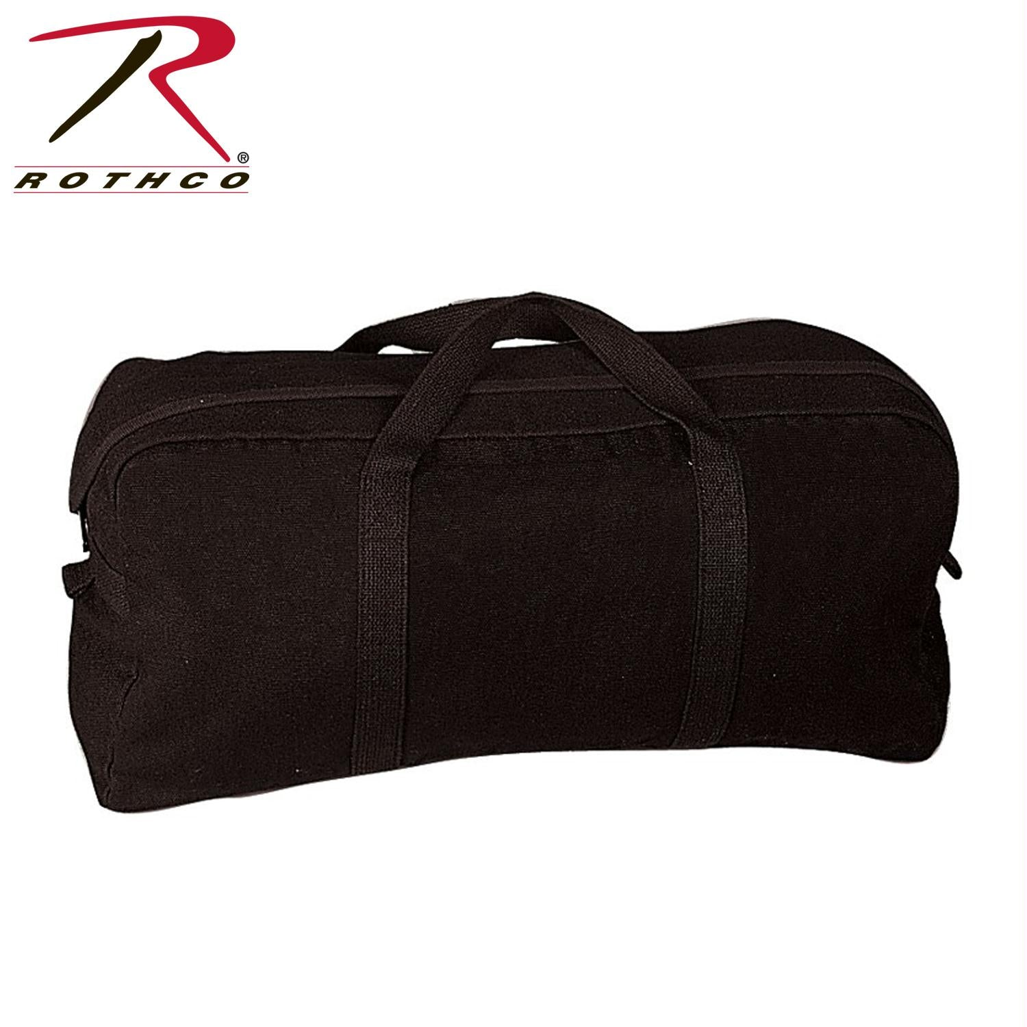 Rothco Canvas Tanker Style Tool Bag - Black