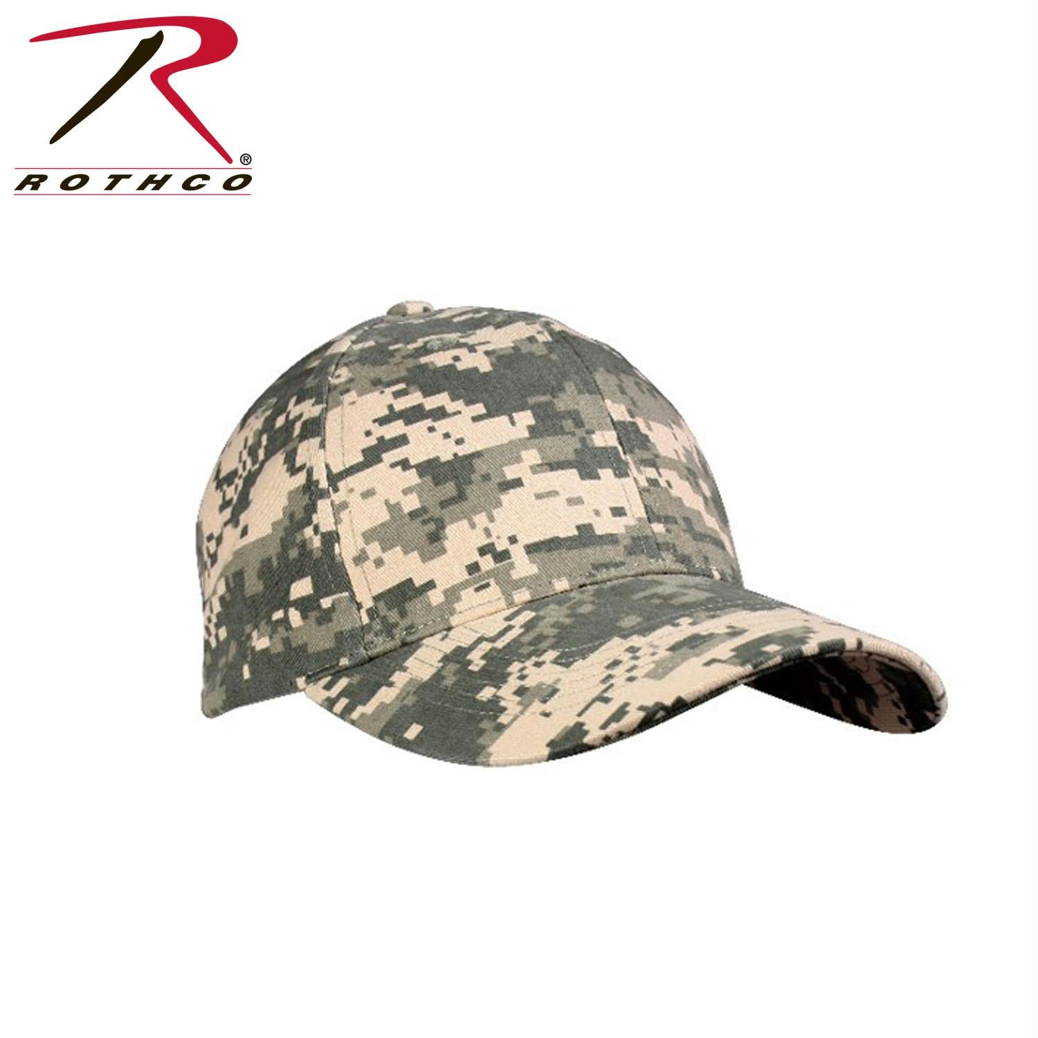 Rothco Supreme Camo Low Profile Cap - ACU Digital Camo / One Size