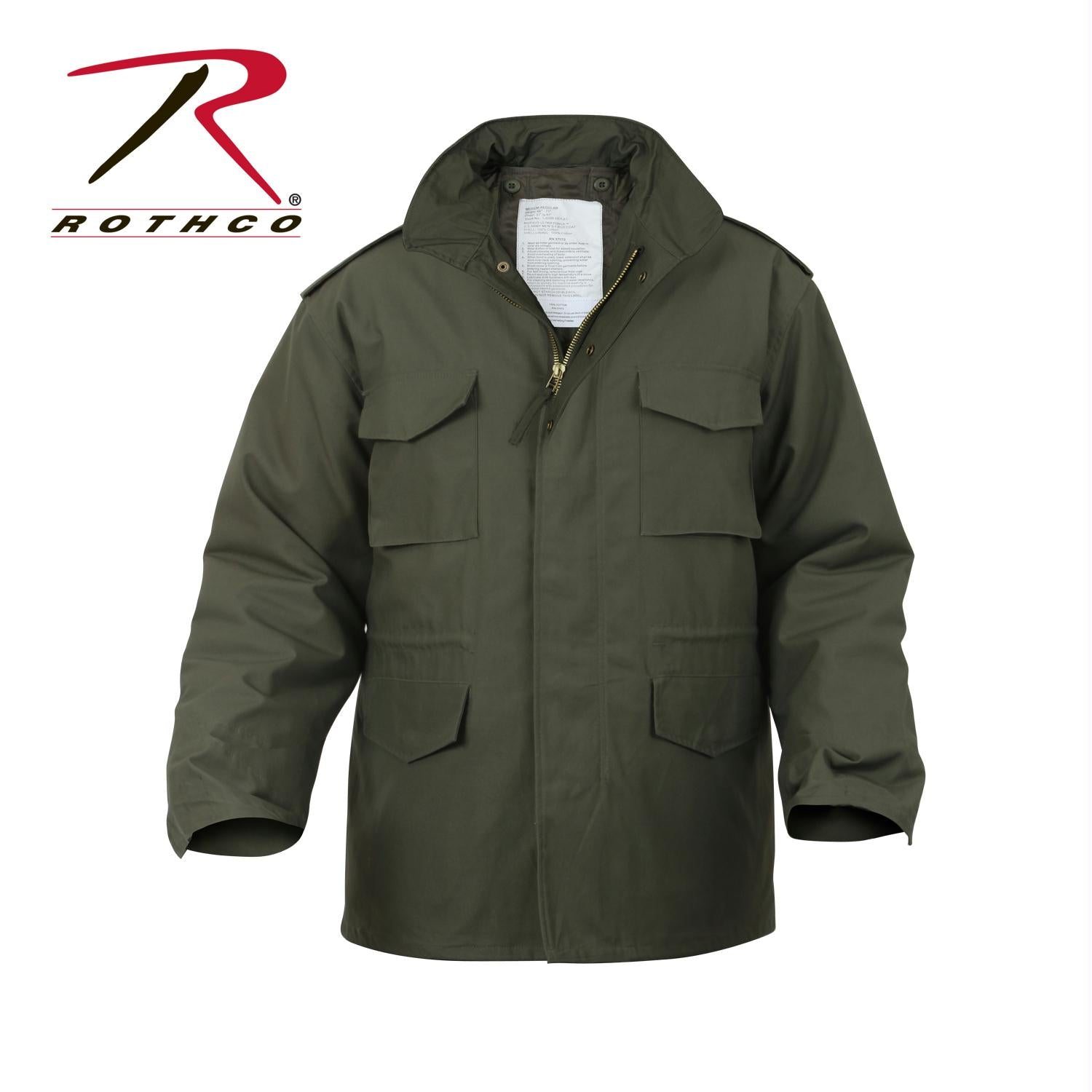 Rothco M-65 Field Jacket - Olive Drab / XS
