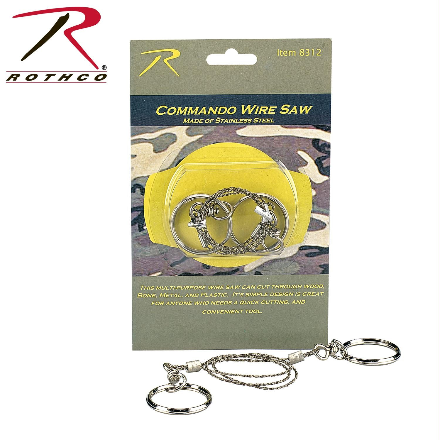 Rothco Commando Wire Saw