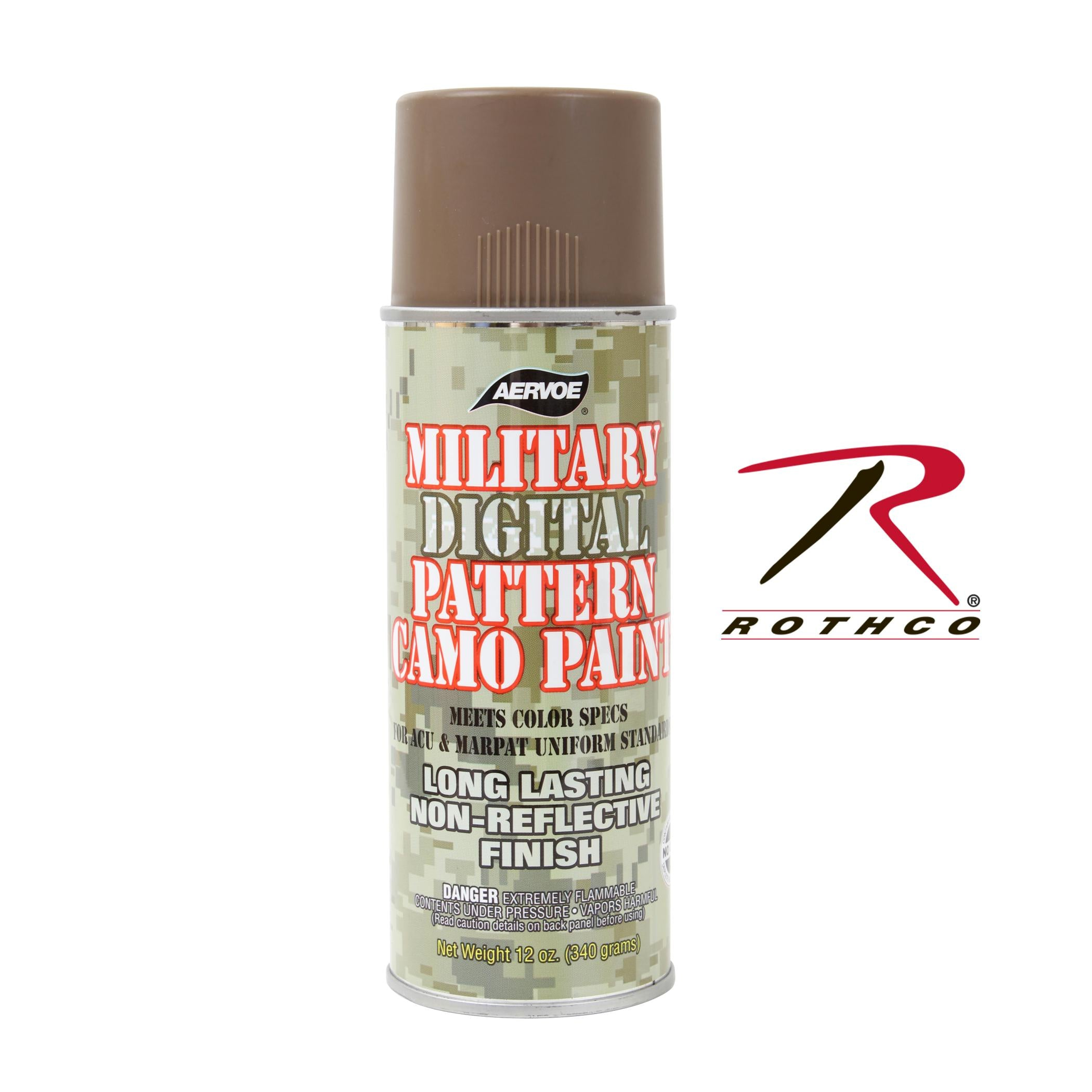 Rothco Camouflage Spray Paint - Coyote Brown