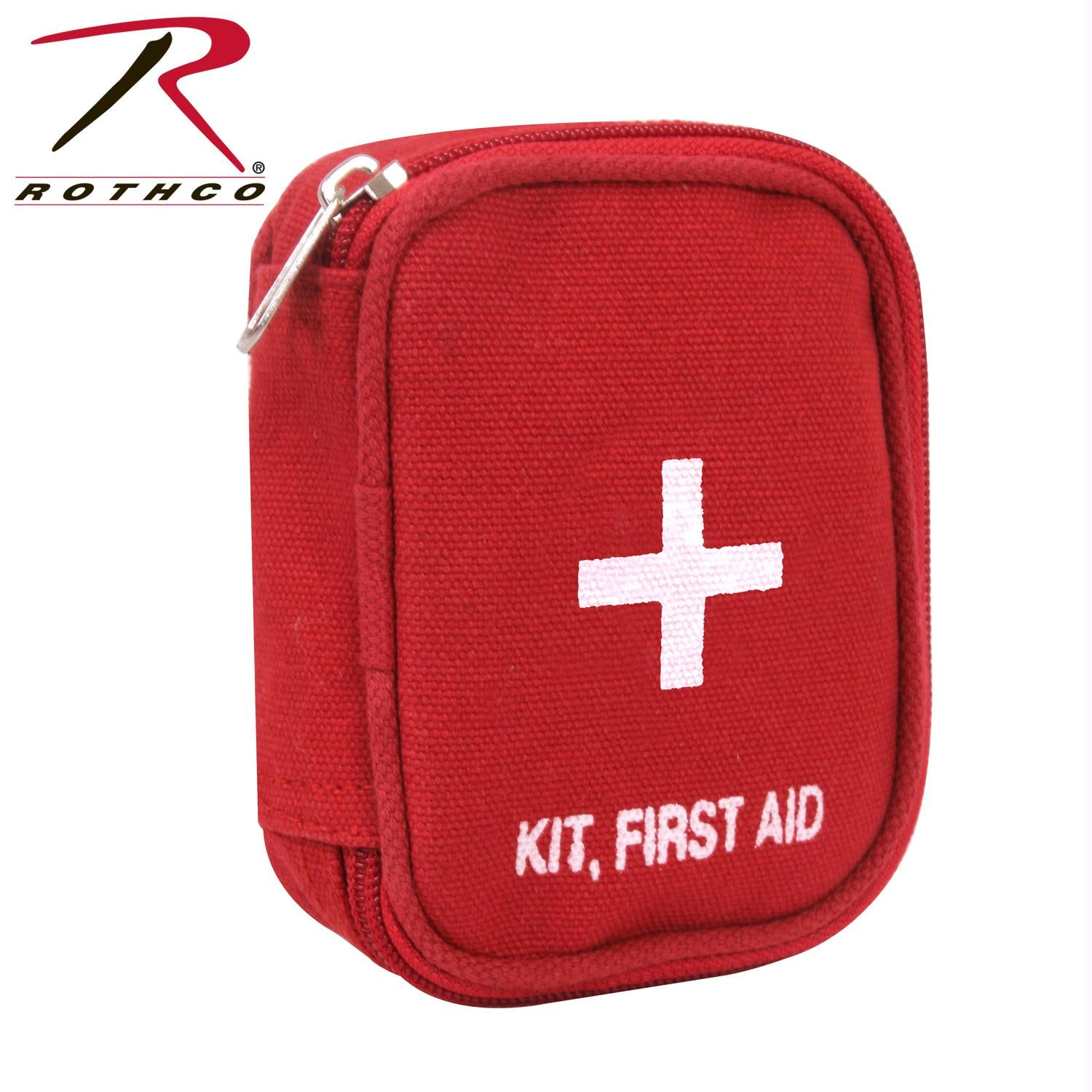 Rothco Military Zipper First Aid Kit Pouch - Red
