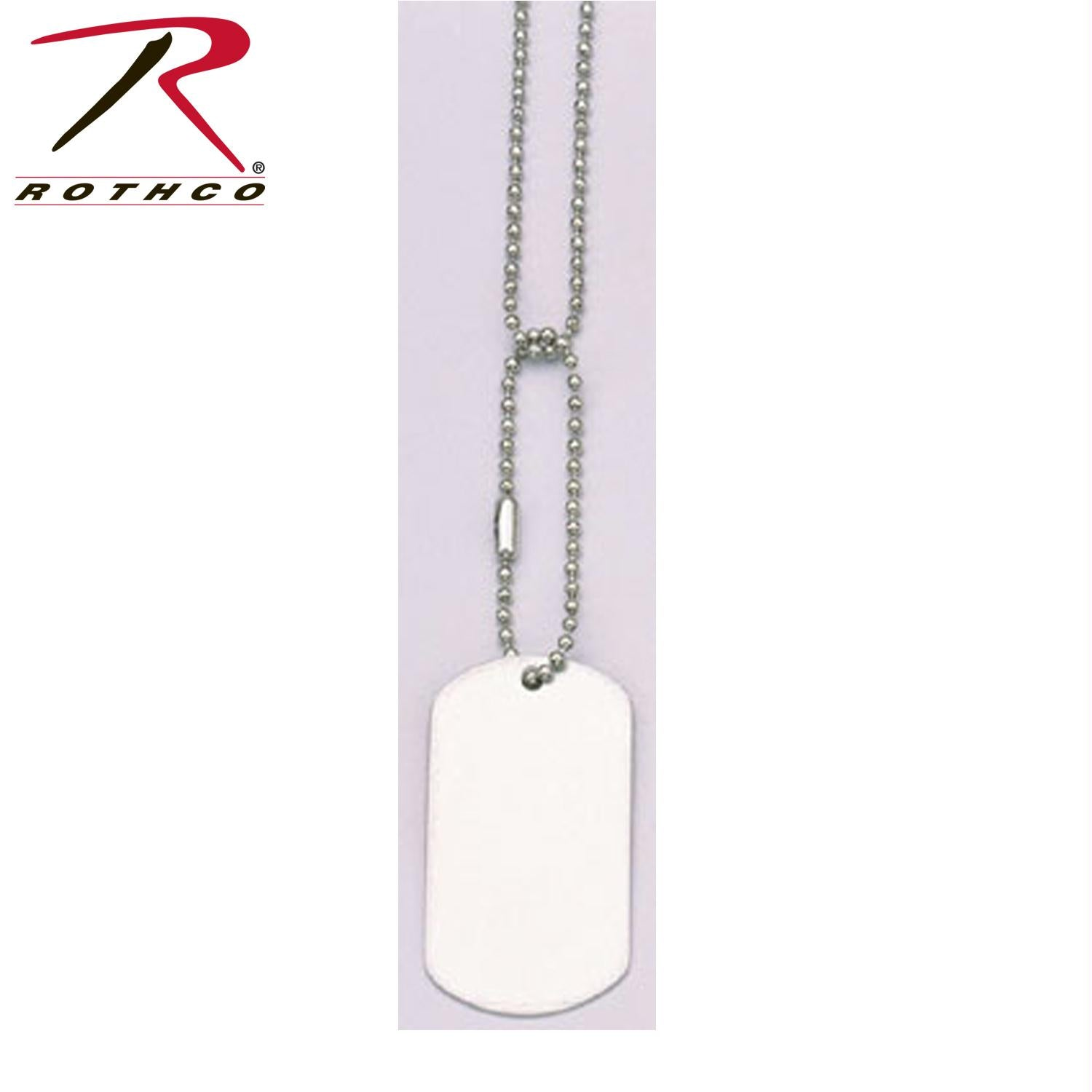 Rothco G.I. Type Dog Tag - Matte