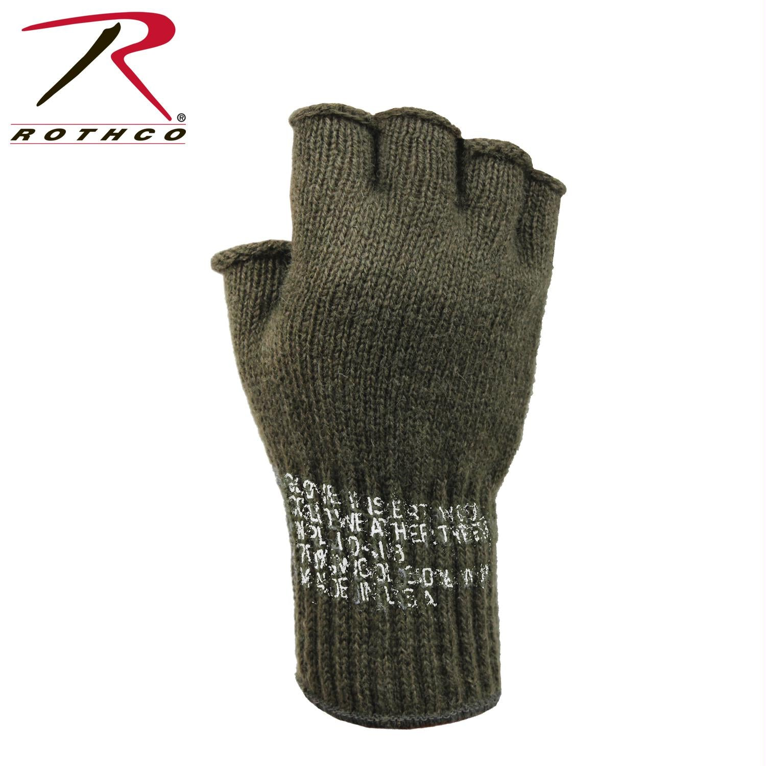Rothco Fingerless Wool Gloves